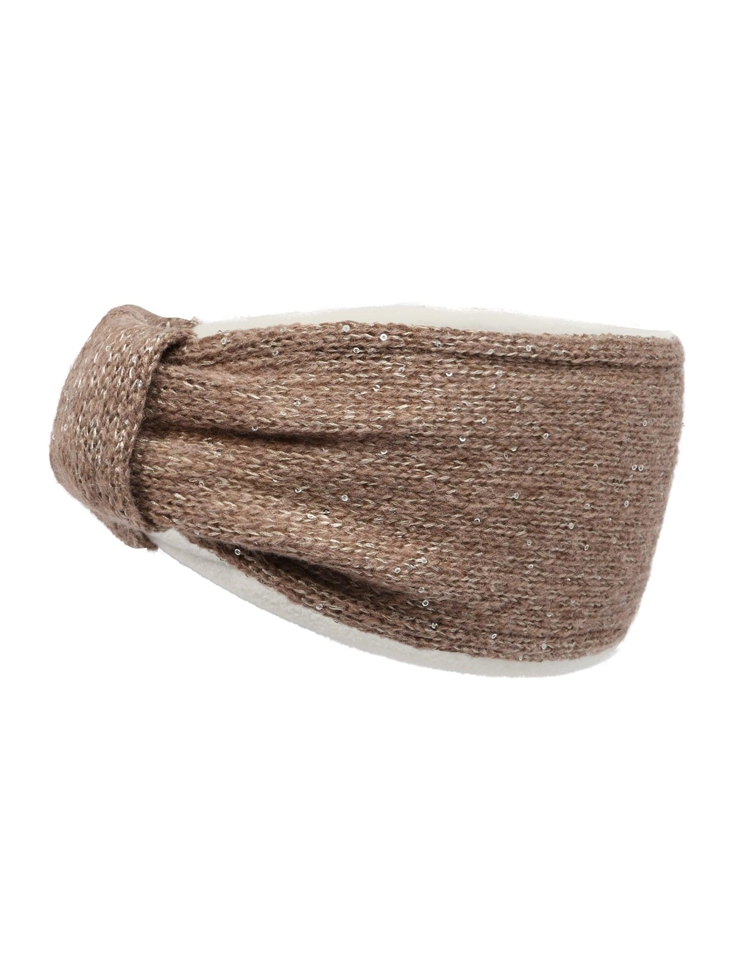 MAXIMO Megzta kepurė margai ruda