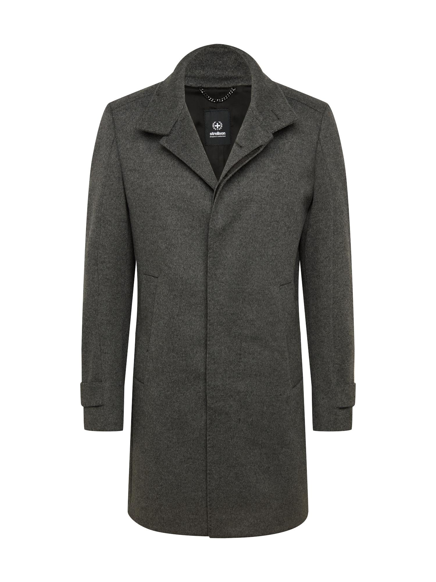 STRELLSON Demisezoninis paltas tamsiai pilka