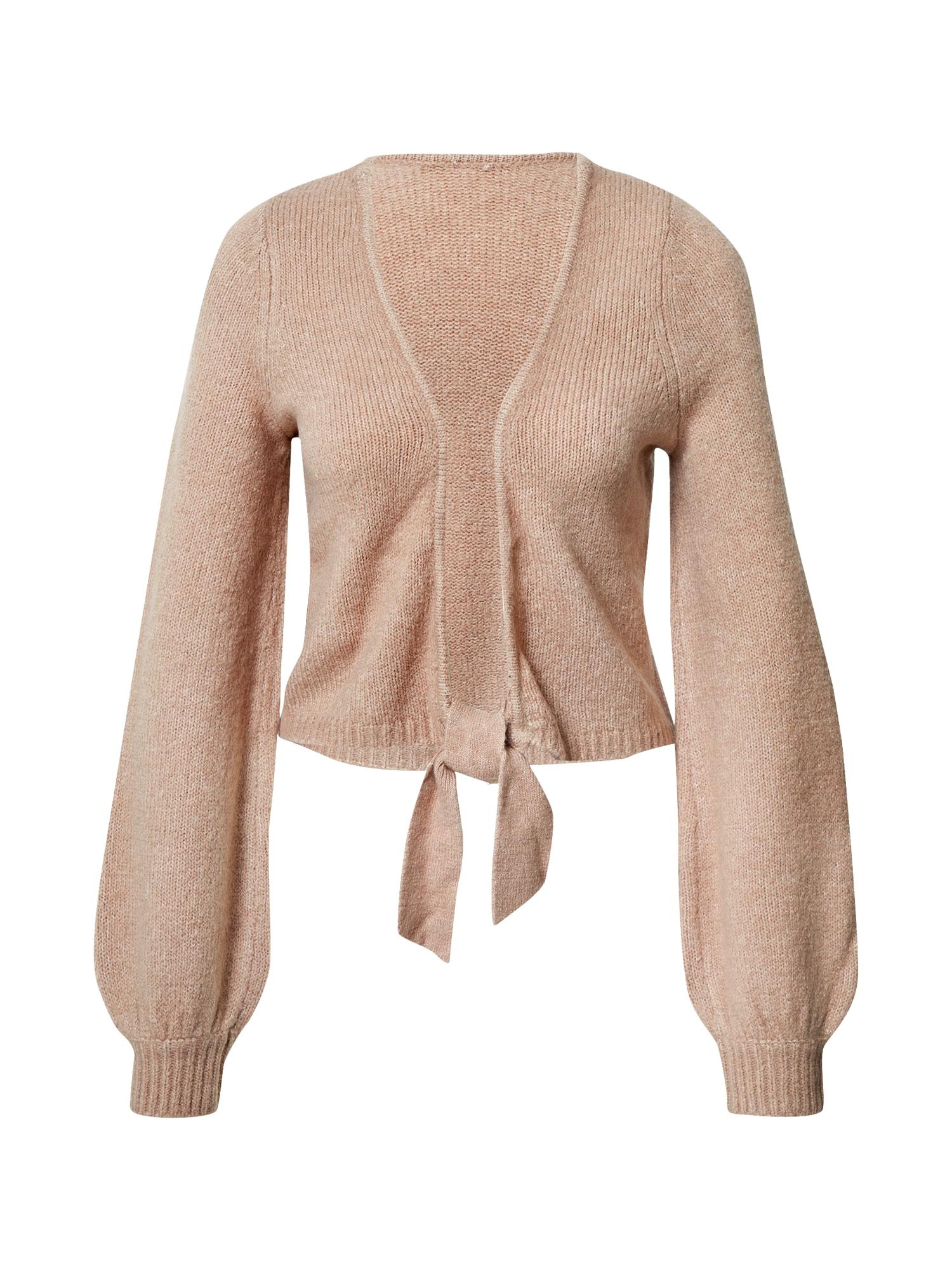 Abercrombie & Fitch Kardiganas ryškiai rožinė spalva