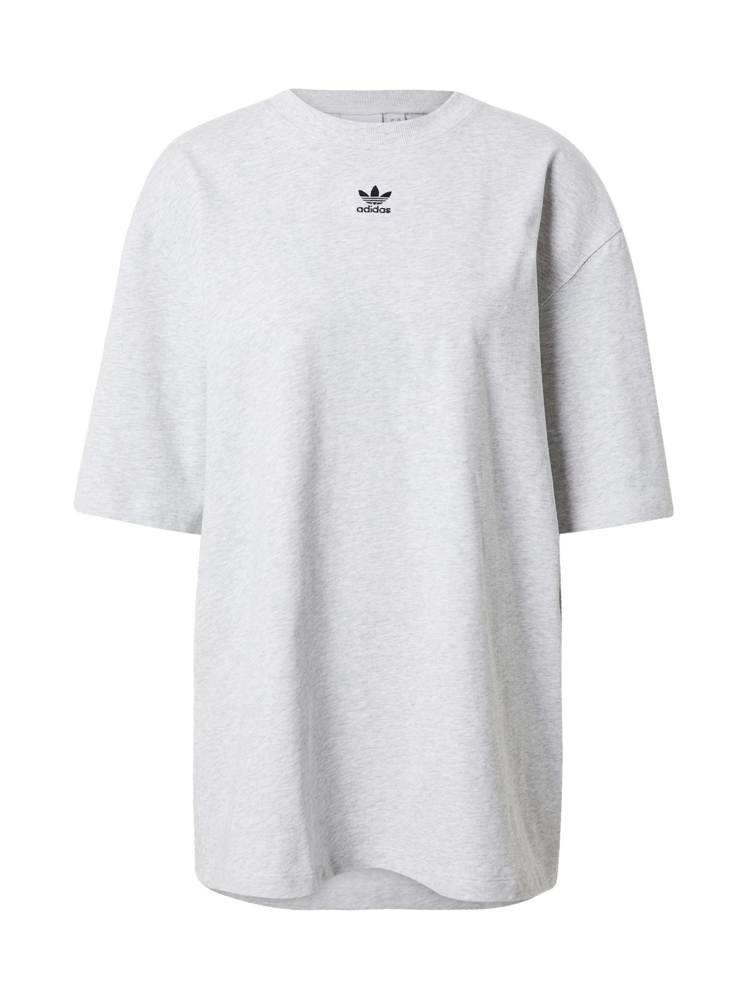 ADIDAS ORIGINALS Marškinėliai margai pilka / juoda