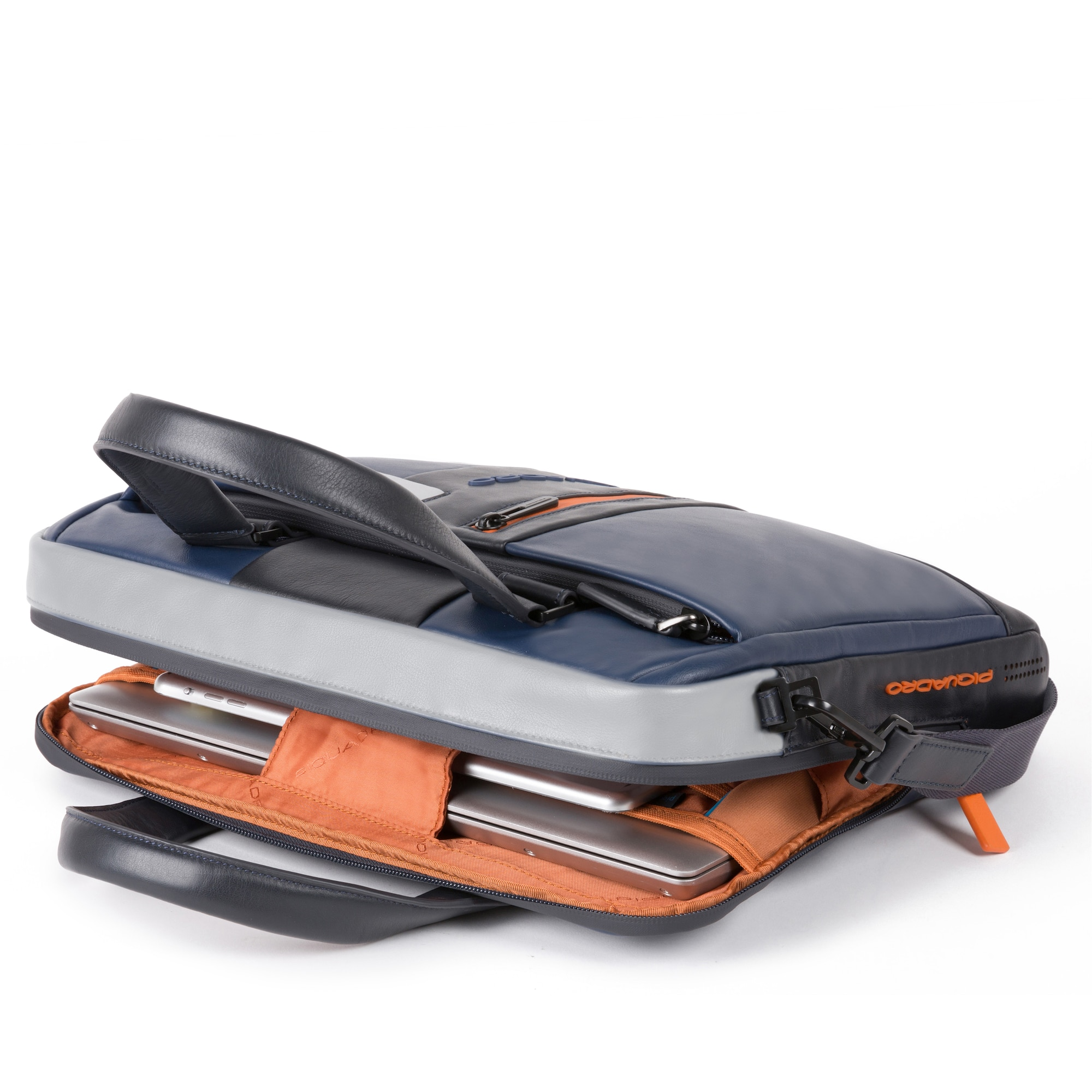 piquadro - Laptoptasche Leder 43 cm