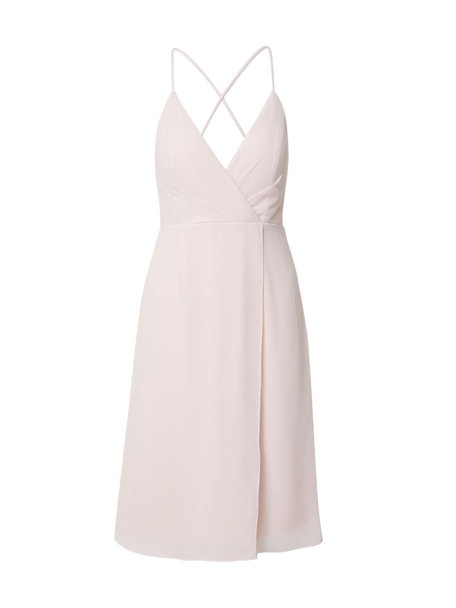 STAR NIGHT Kokteilinė suknelė pudros spalva