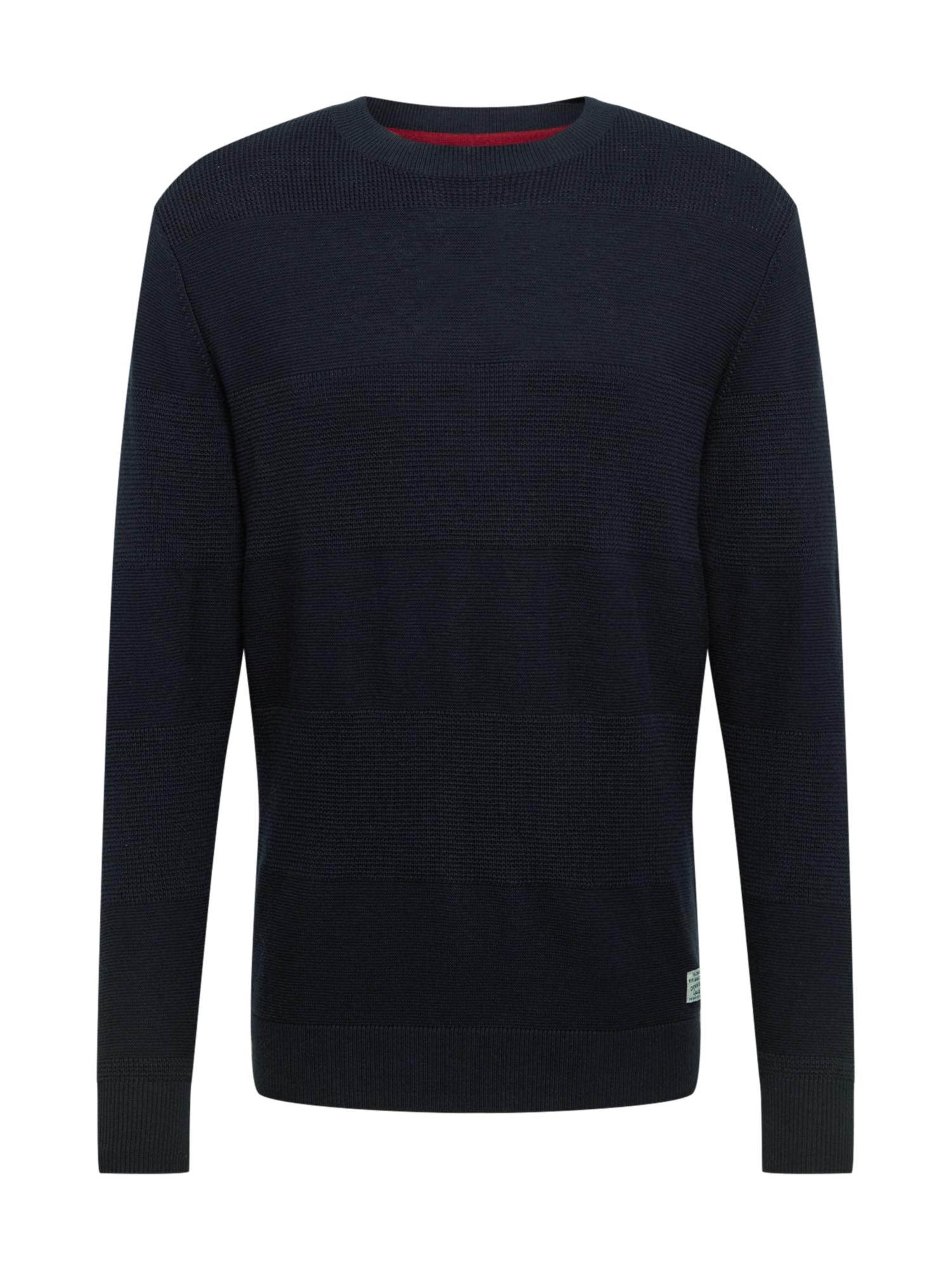 Pepe Jeans Svetr 'OSCAR'  tmavě modrá