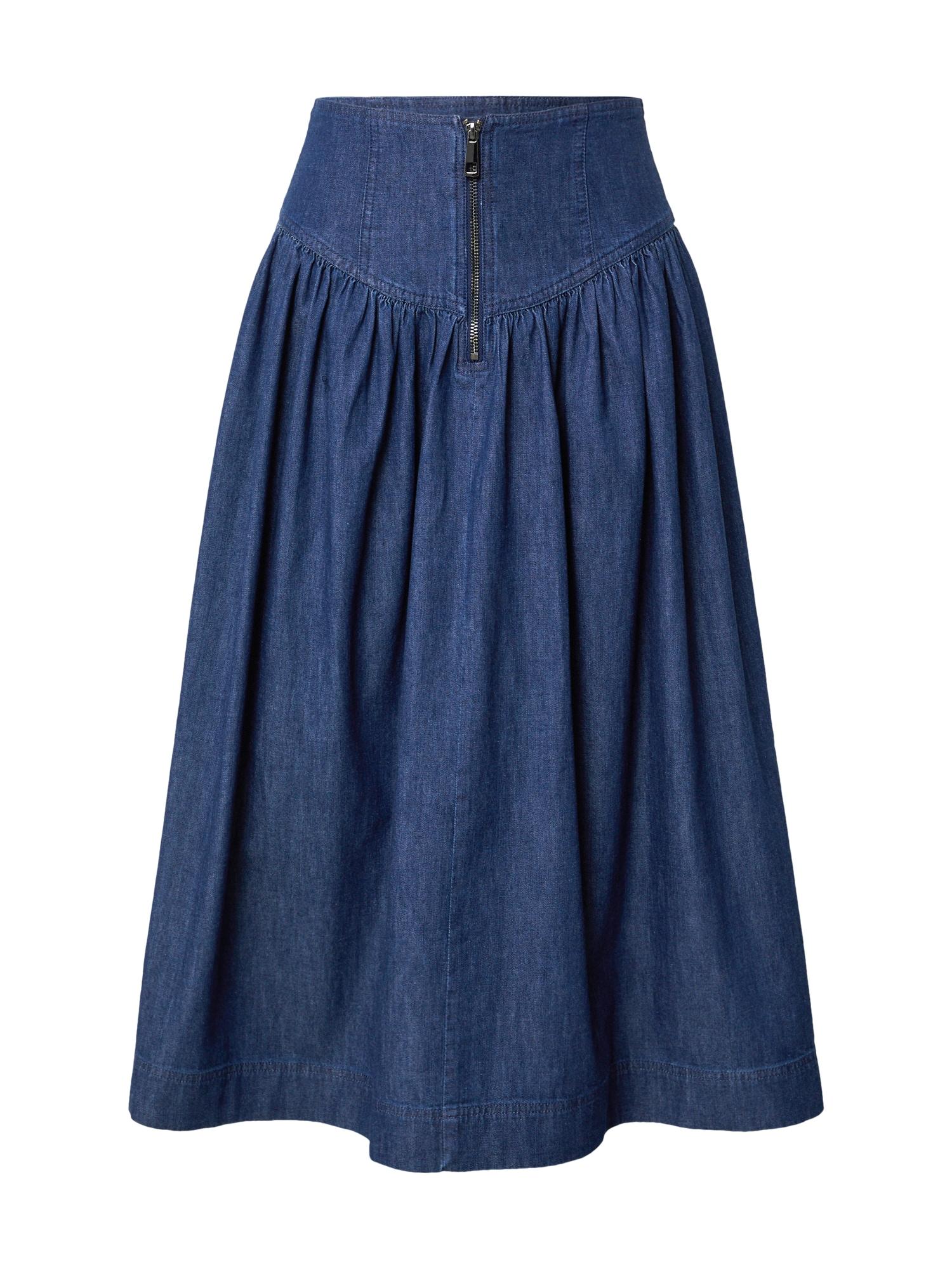 Whistles Sijonas tamsiai (džinso) mėlyna