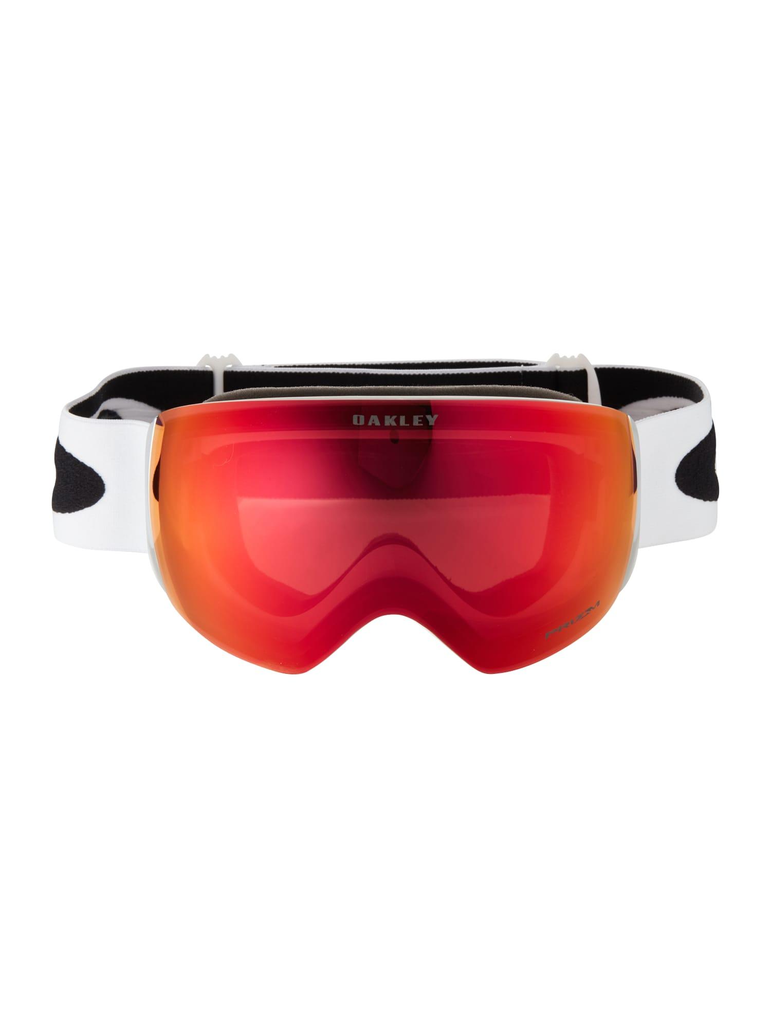 OAKLEY Sportiniai akiniai 'Flight Deck' raudona / balta