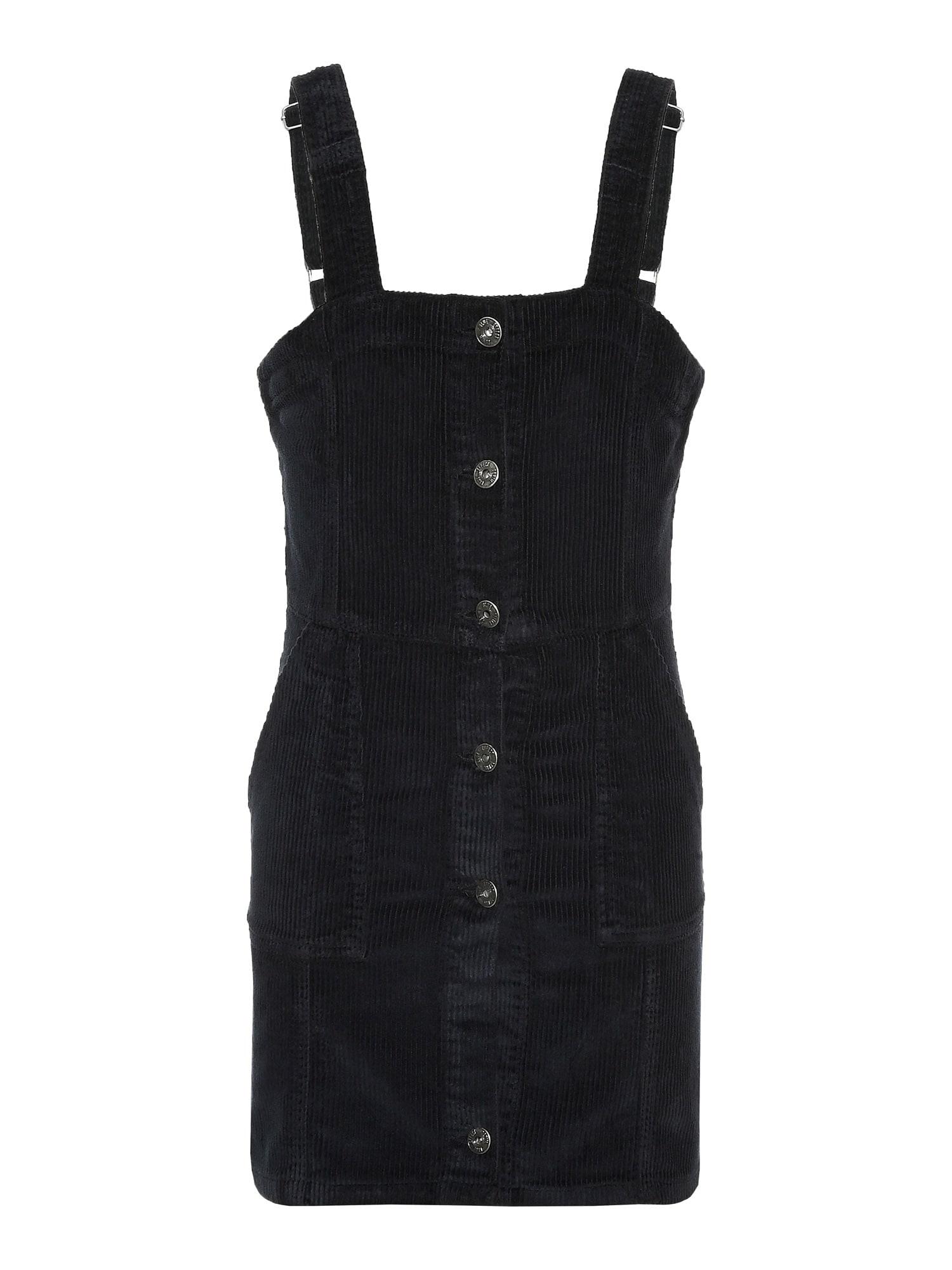 BLUE EFFECT Suknelė juoda