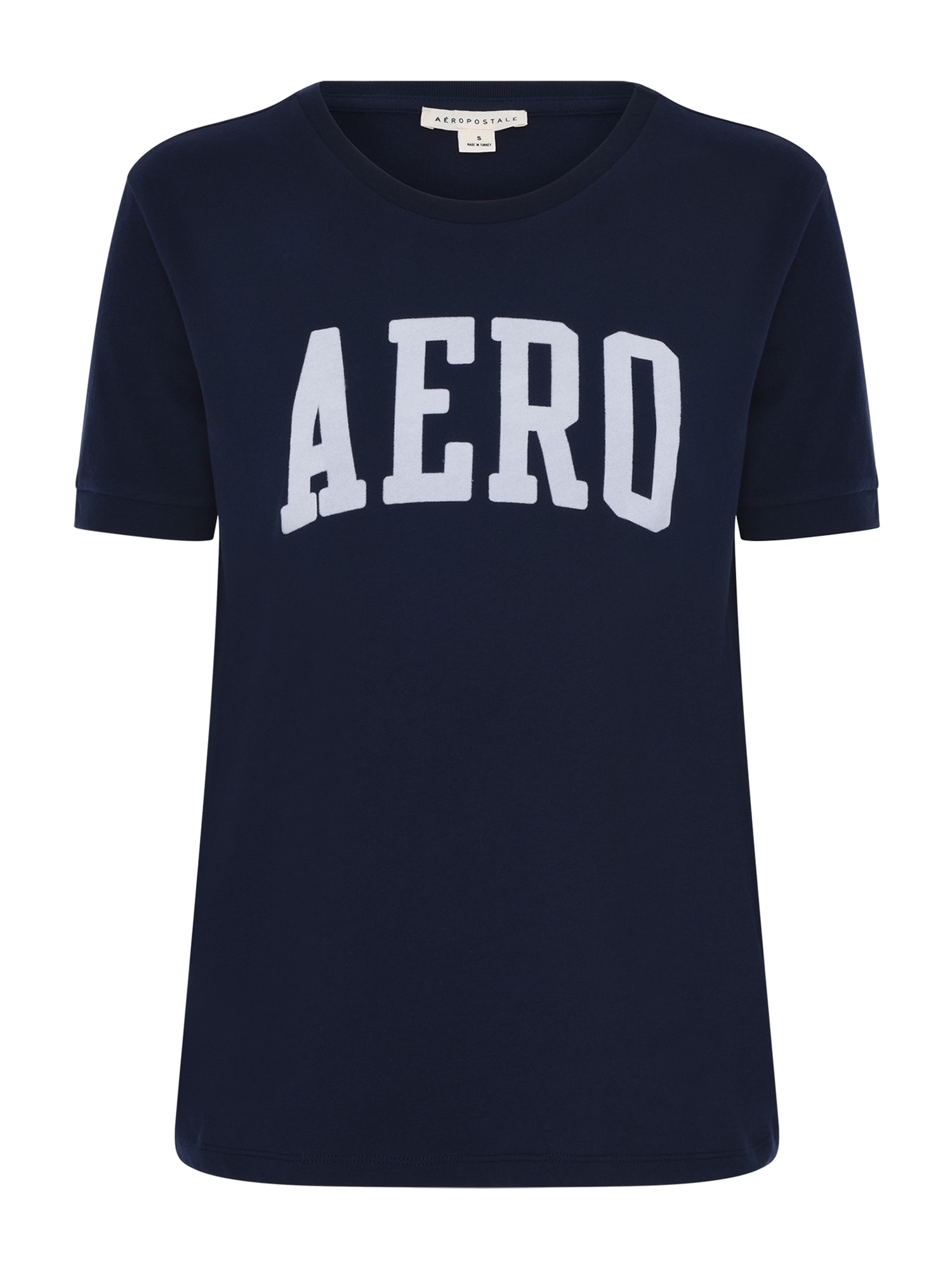 AÈROPOSTALE Marškinėliai tamsiai mėlyna / balta
