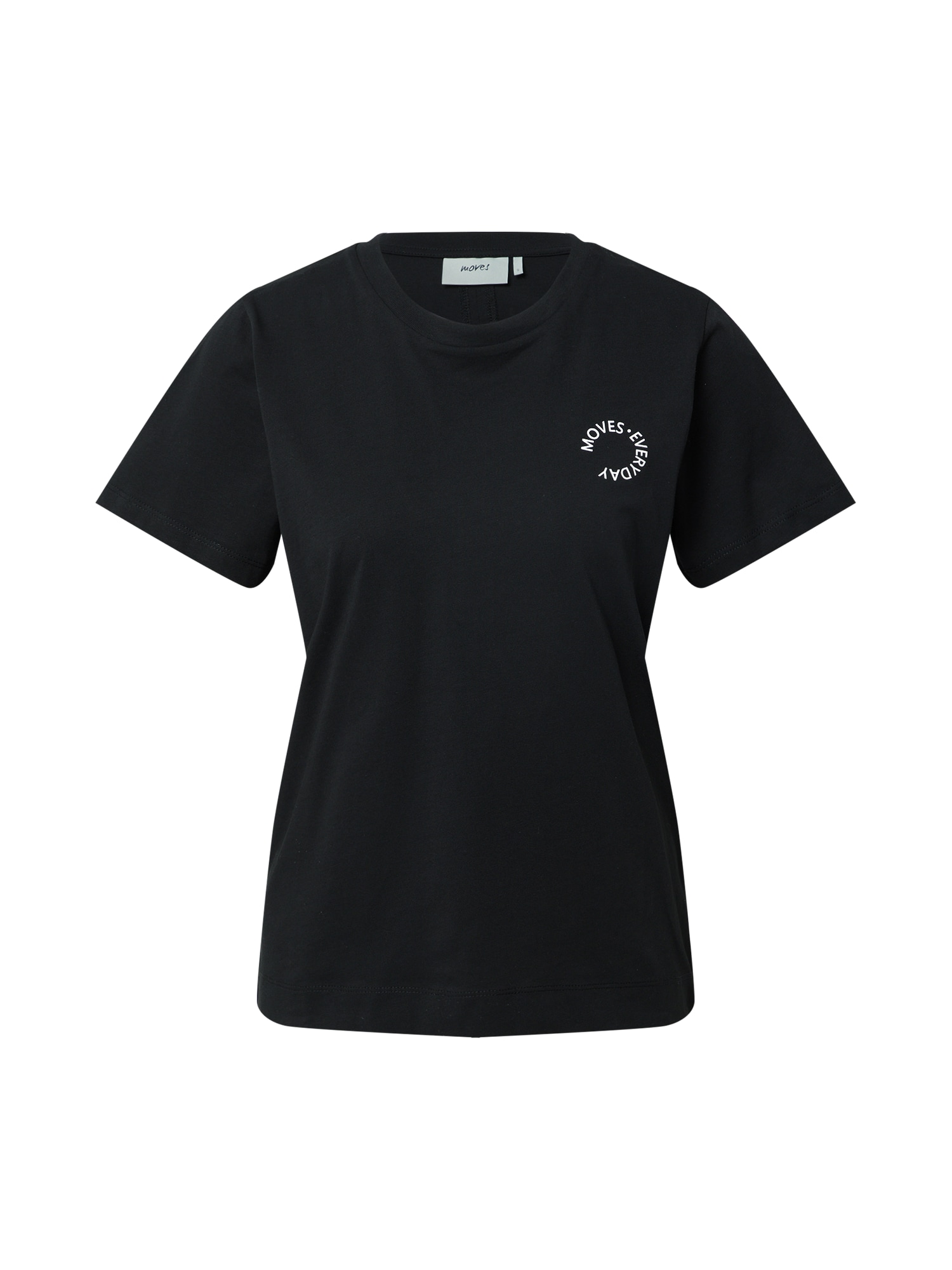 Moves Marškinėliai juoda / balta