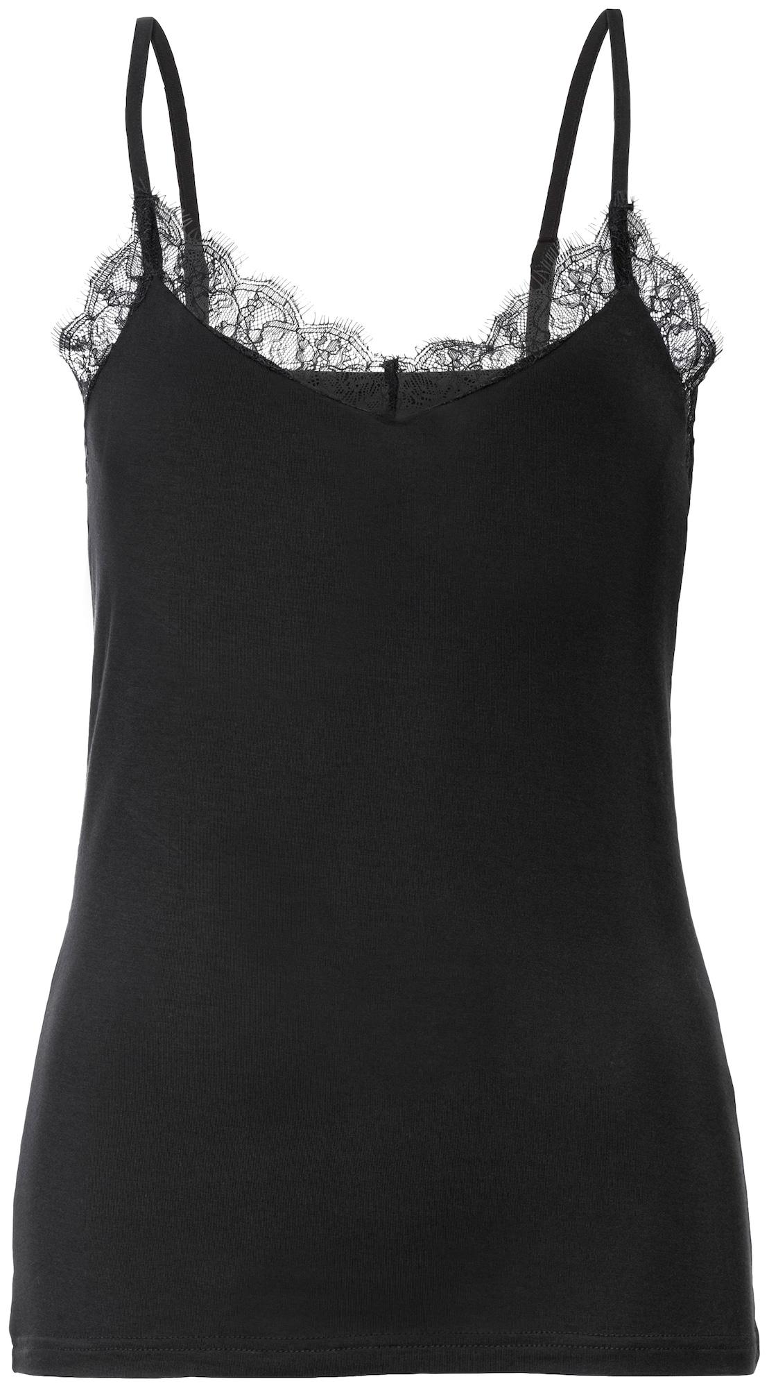 s.Oliver Apatiniai marškinėliai juoda