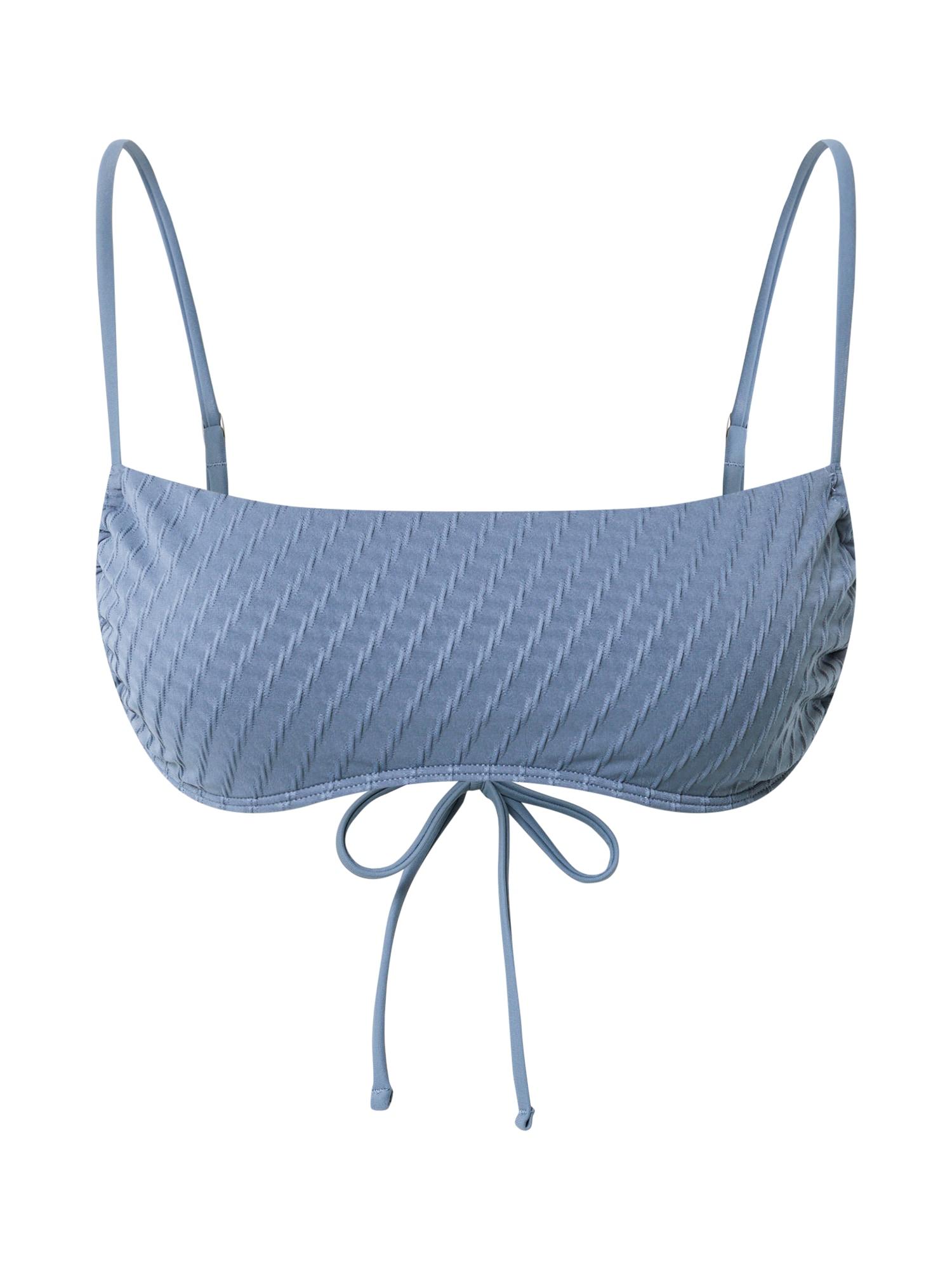 Abercrombie & Fitch Bikinio viršutinė dalis melsvai pilka