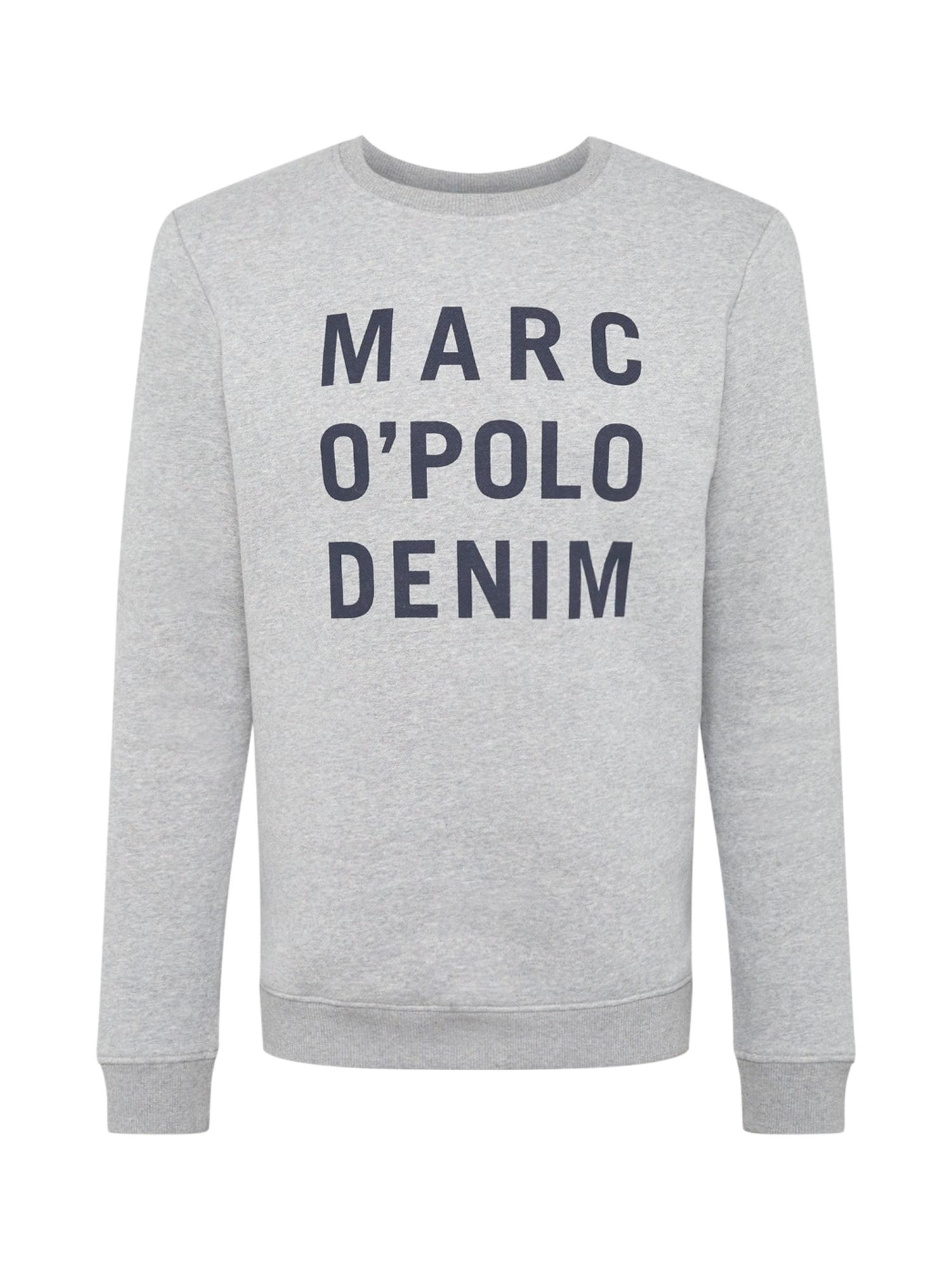 Marc O'Polo DENIM Mikina  šedá / čedičová šedá
