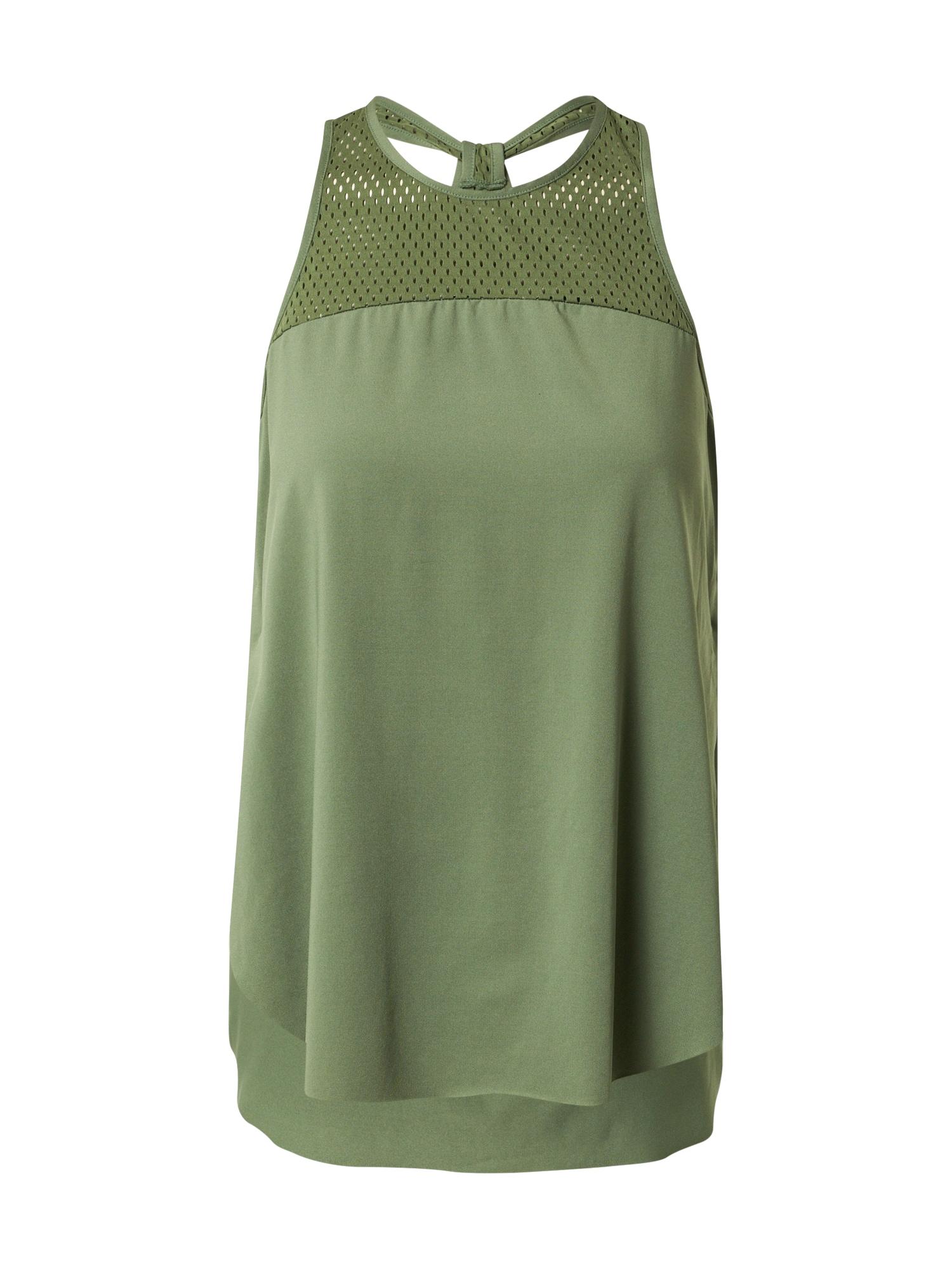 HKMX Sportiniai marškinėliai be rankovių žalia