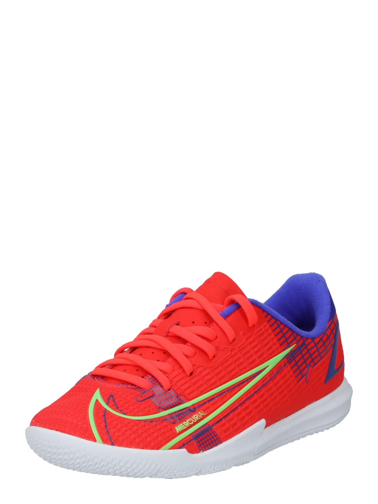 NIKE Sportiniai batai 'Vapor 14 Spectrum Academy' tamsiai oranžinė / mėlyna / obuolių spalva