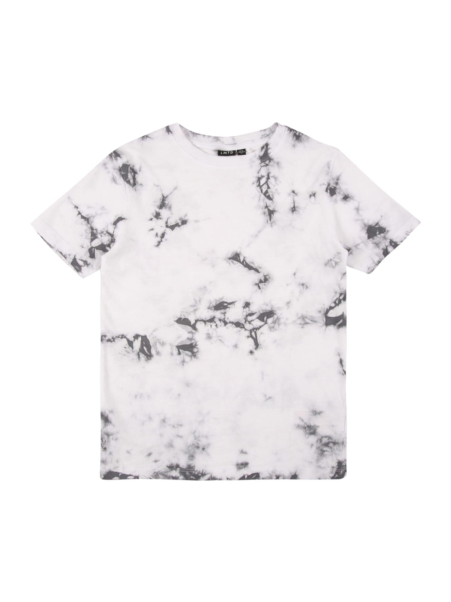 LMTD Marškinėliai antracito spalva / šviesiai pilka