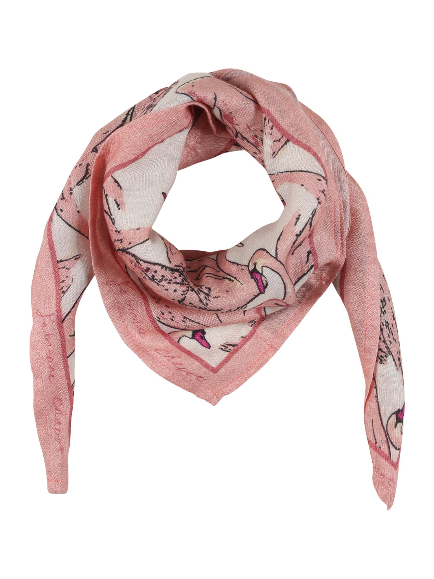 Fabienne Chapot Látková rouška 'Carry'  růžová / bílá / černá