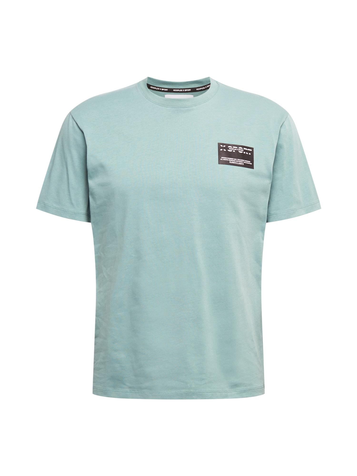 THE KOOPLES SPORT Marškinėliai mėlyna / juoda / balta