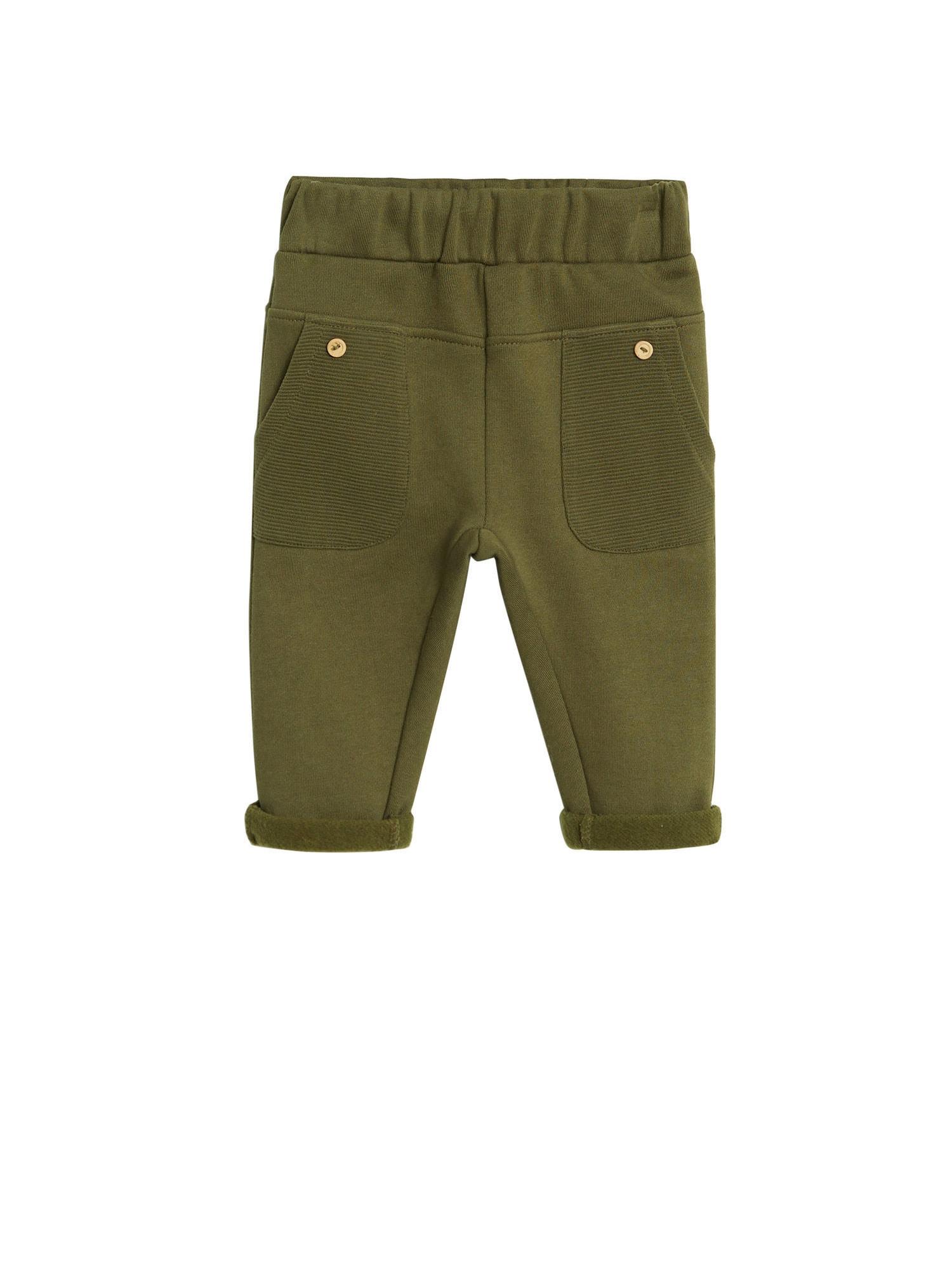 MANGO KIDS Kalhoty 'MILOS'  khaki