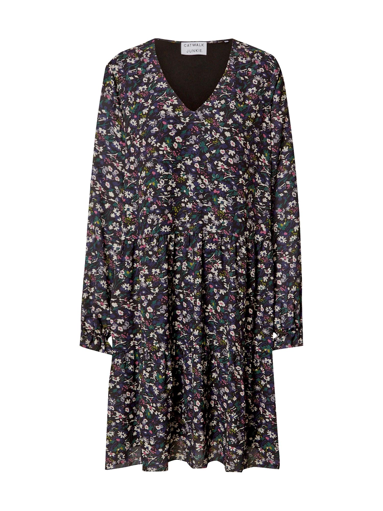 CATWALK JUNKIE Suknelė purpurinė / mišrios spalvos