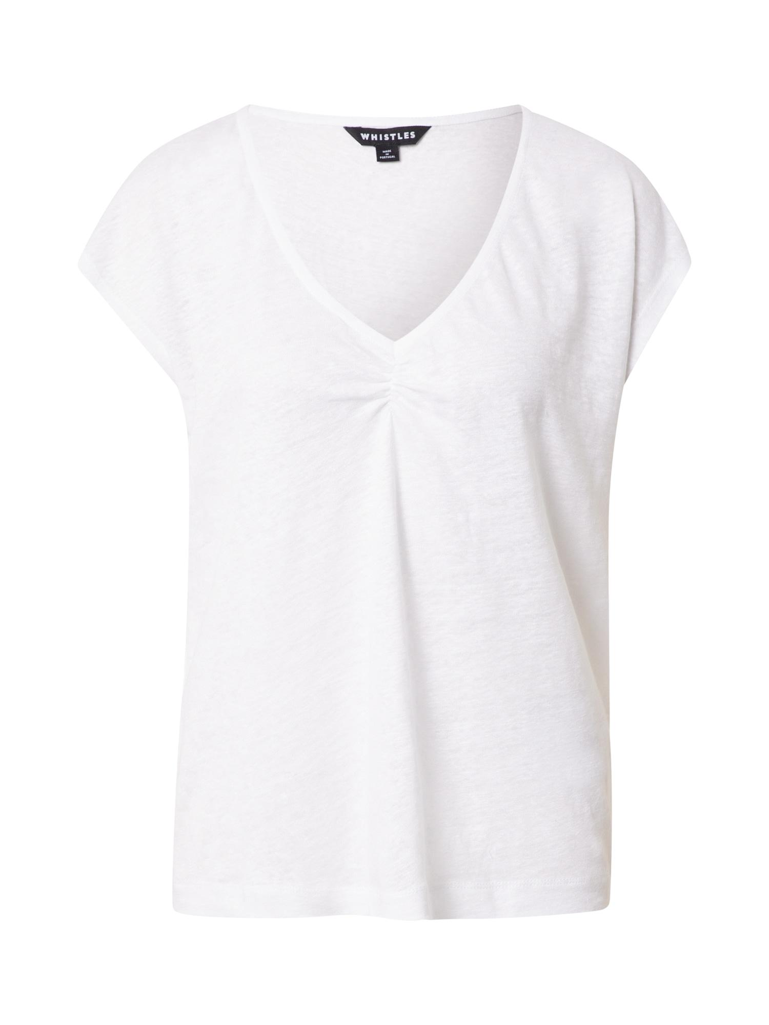 Whistles Marškinėliai balta