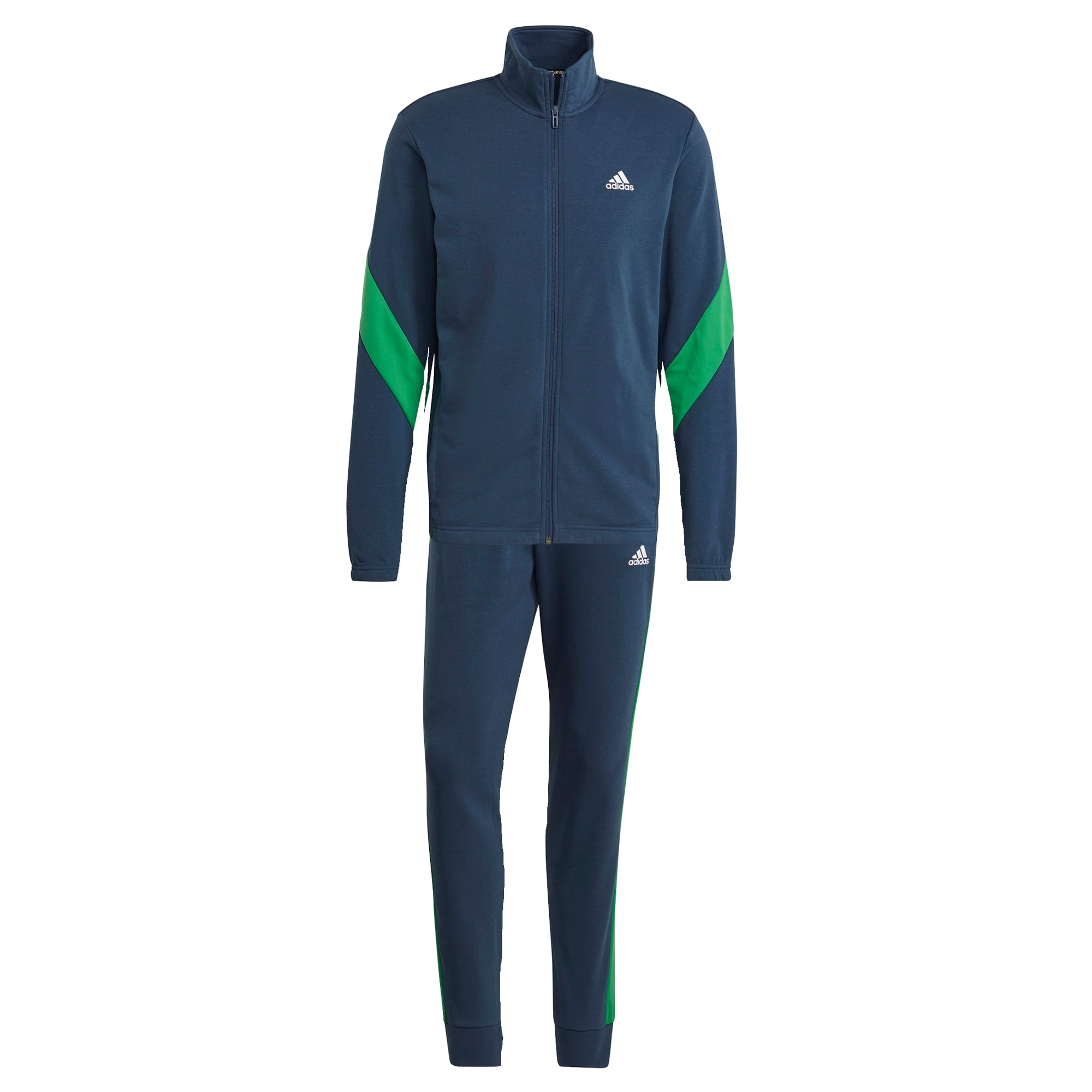ADIDAS PERFORMANCE Treniruočių kostiumas mėlyna / žalia