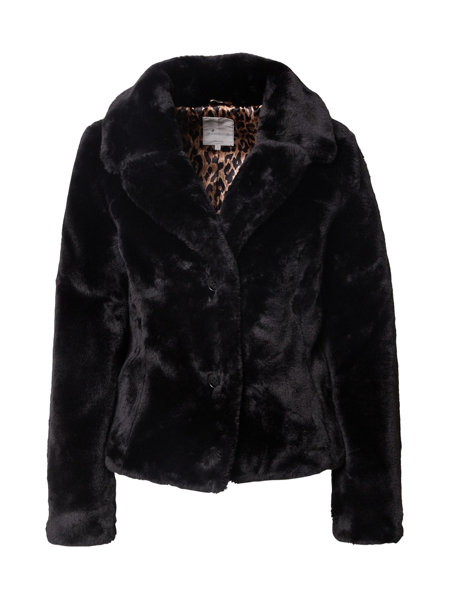 Goosecraft Zimná bunda  čierna