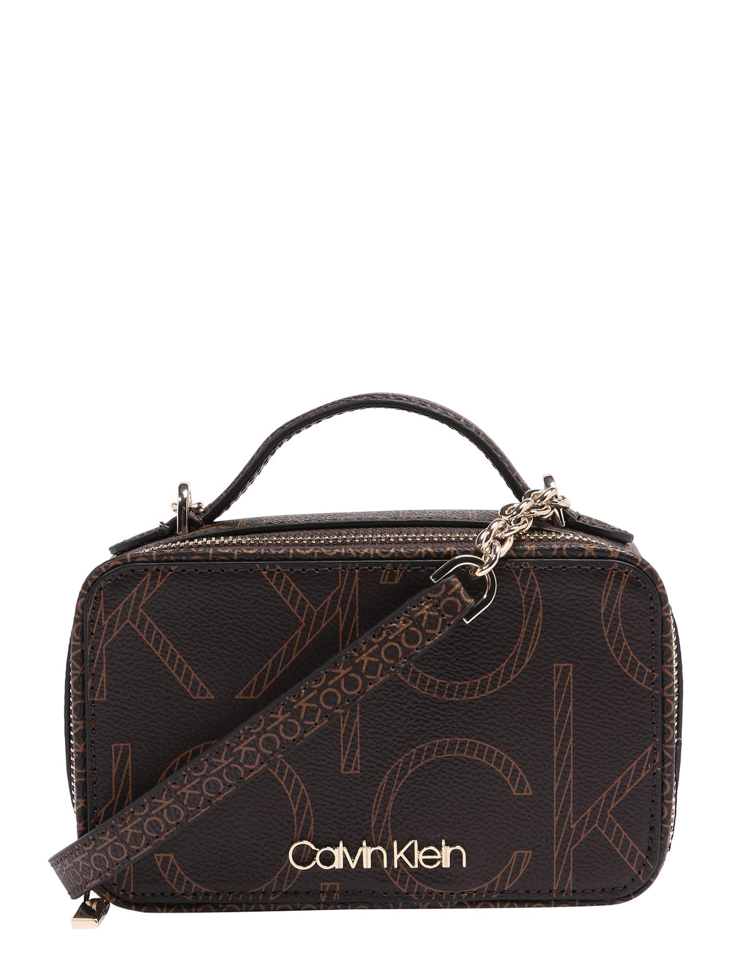 Calvin Klein Fotoaparato dėklas ruda / šviesiai ruda