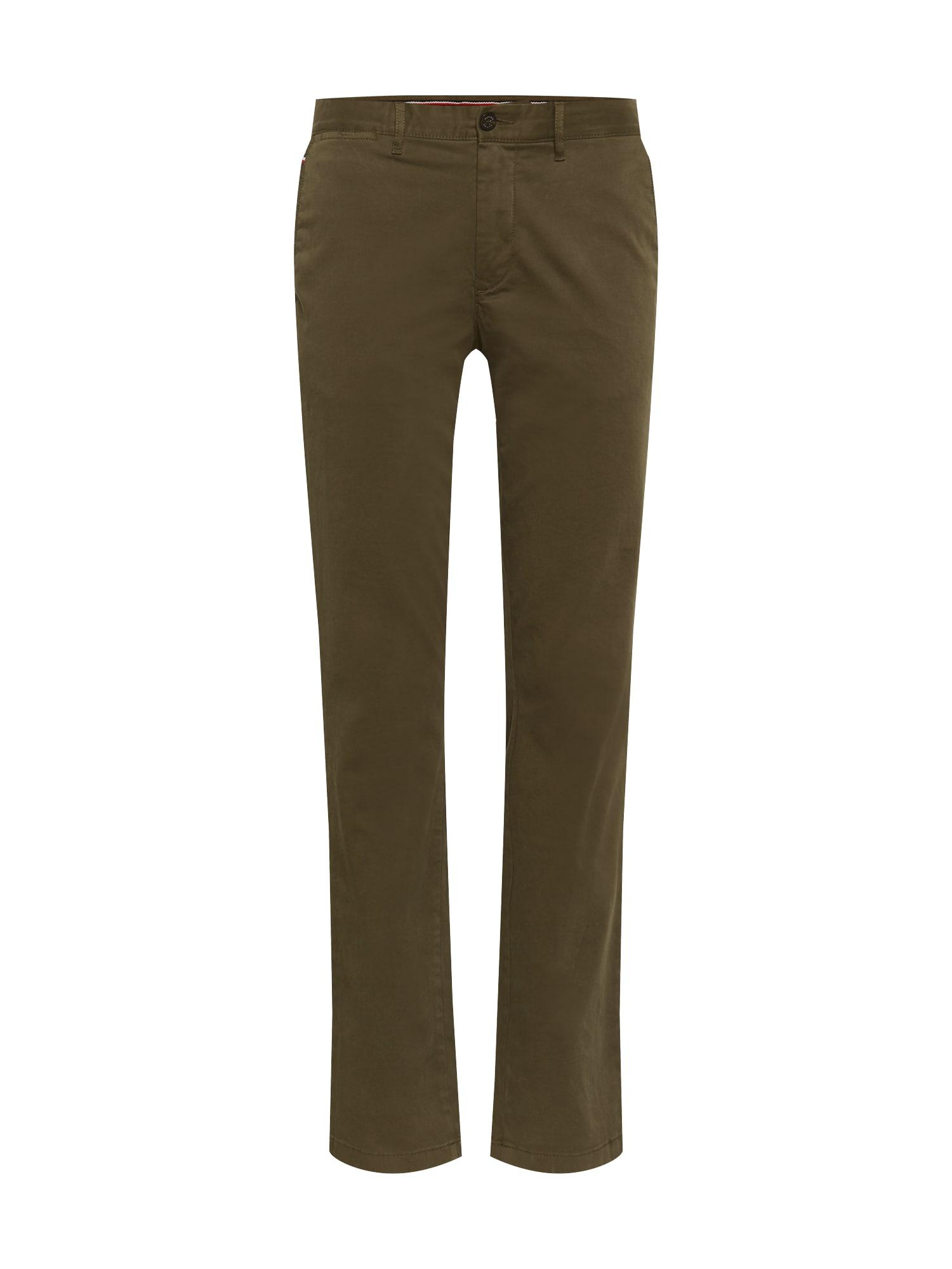 TOMMY HILFIGER Chino kalhoty  olivová / khaki