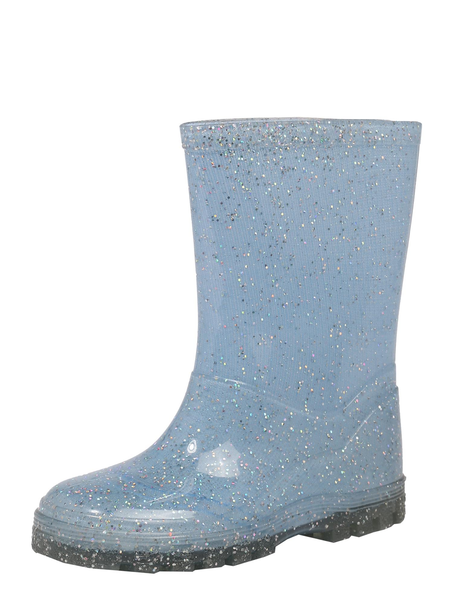 BECK Guminiai batai šviesiai mėlyna / sidabrinė
