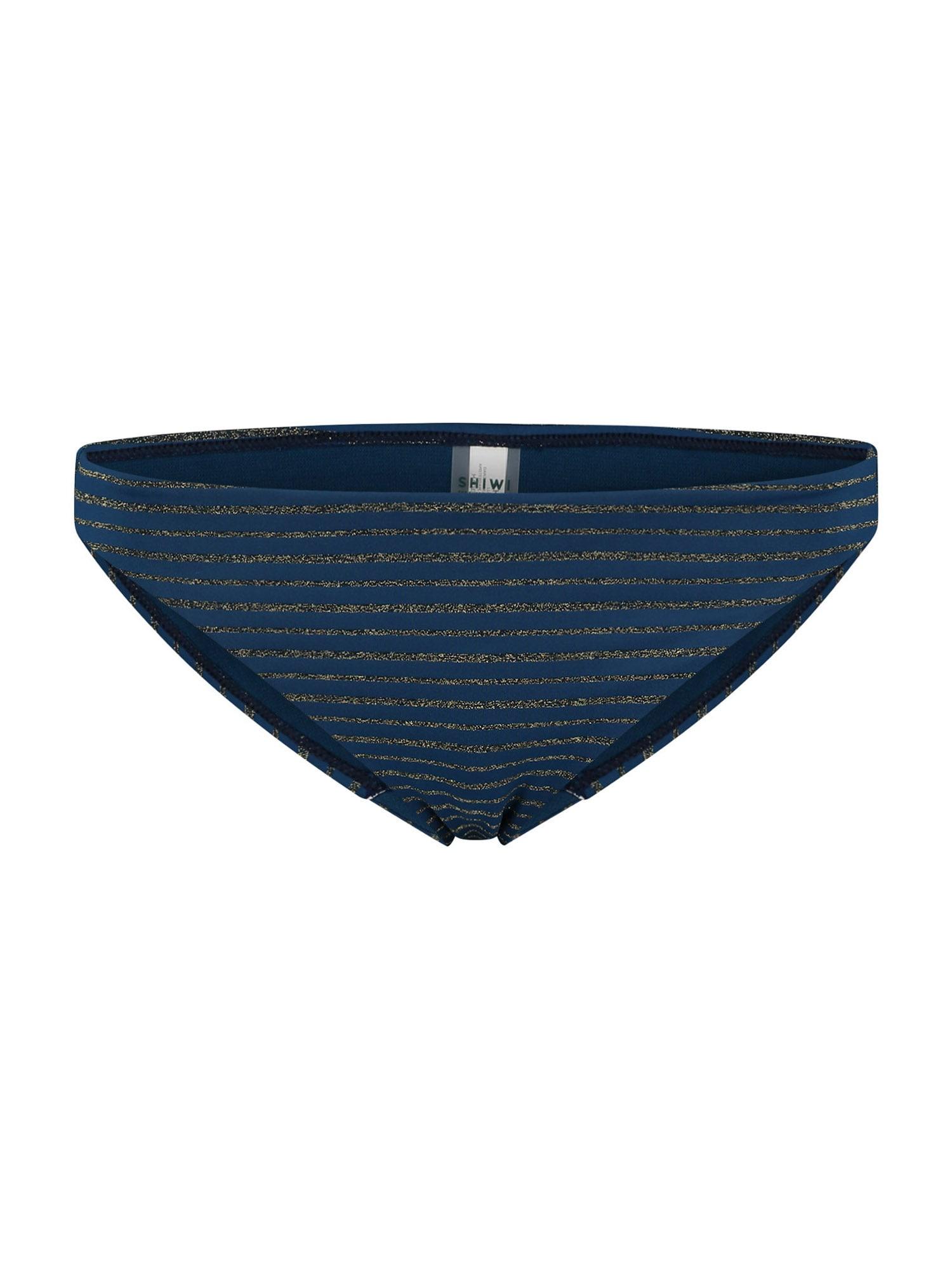 Shiwi Bikinio kelnaitės tamsiai mėlyna / auksas