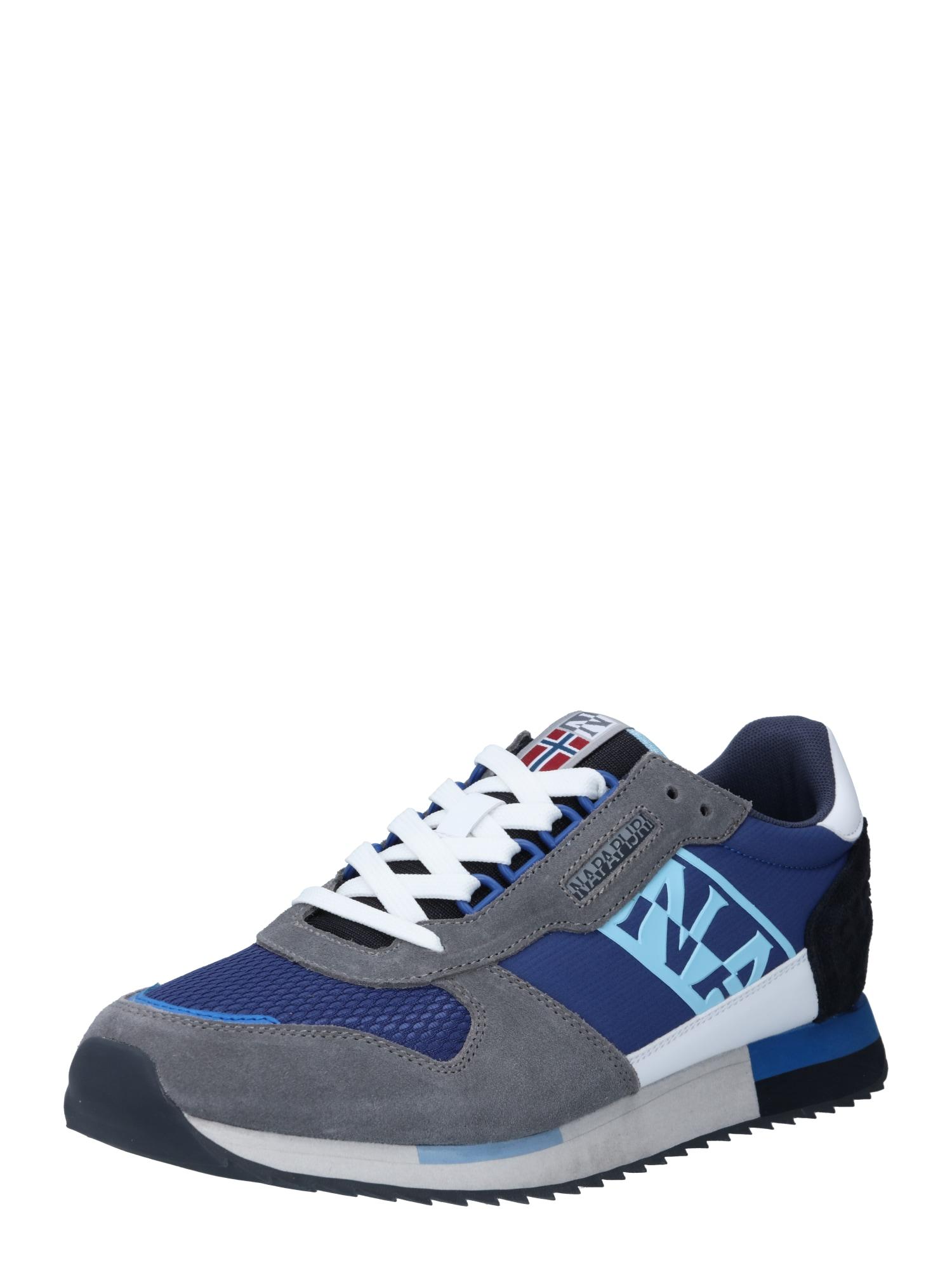 NAPAPIJRI Tenisky 'S1VIRTUS01/NYS'  modrá / chladná modrá / bílá