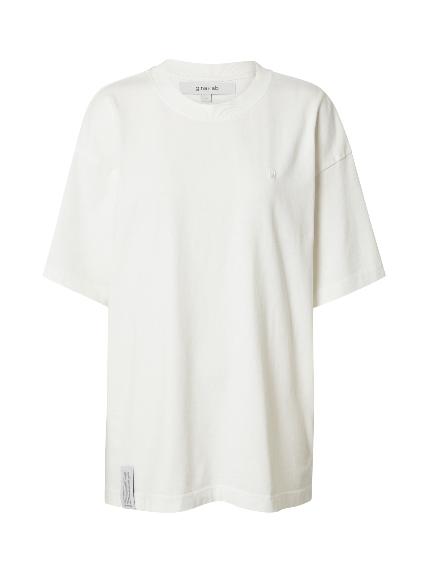 Gina Tricot Oversized tričko 'Billie'  bílá