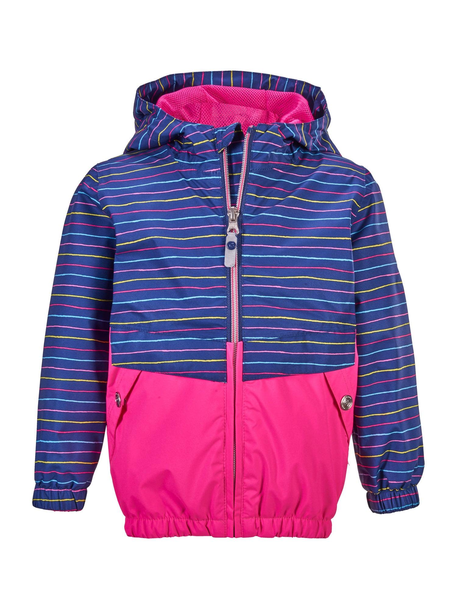 KILLTEC Laisvalaikio striukė neoninė rožinė / mėlyna / mišrios spalvos