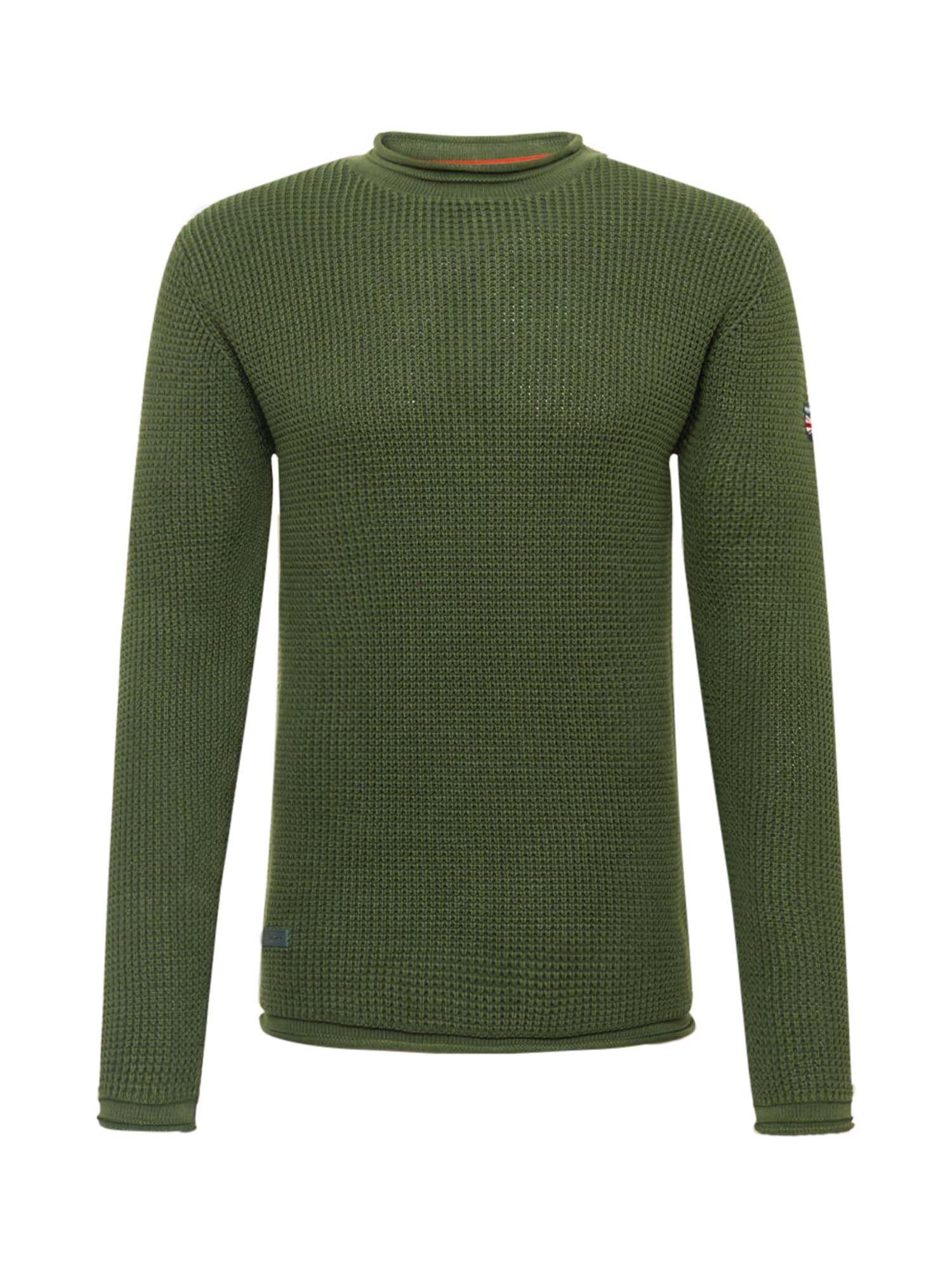 Pepe Jeans Svetr 'STEVEN'  zelená