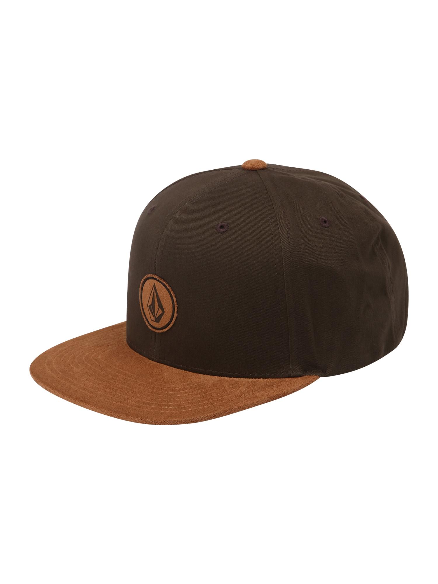 Volcom Kepurė kaštoninė spalva / karamelės