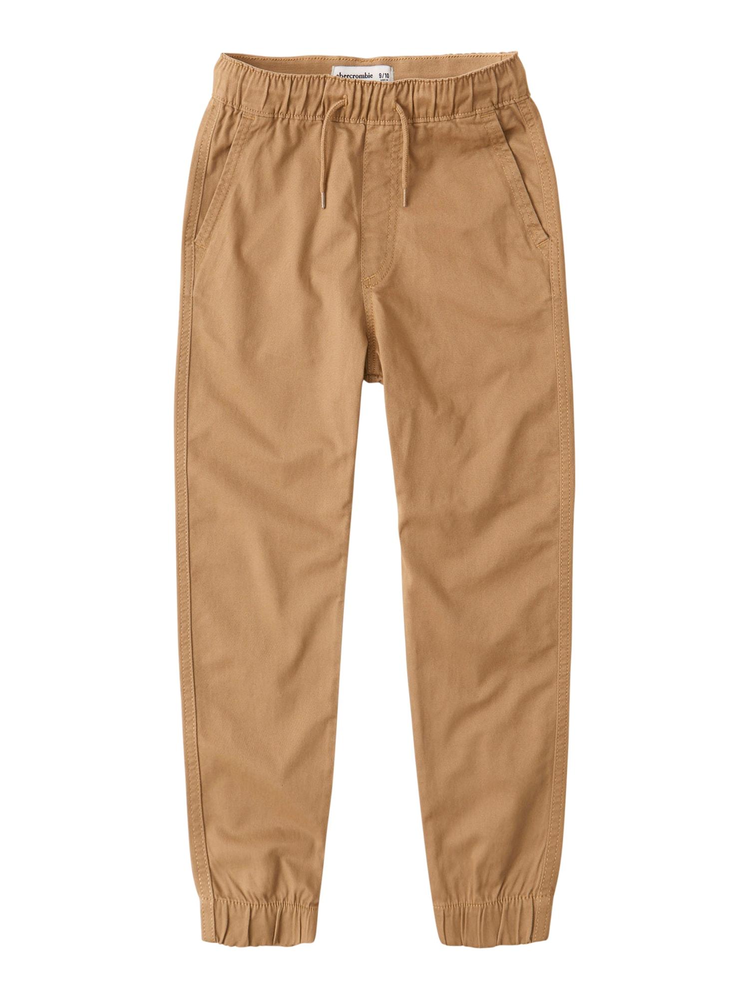 Abercrombie & Fitch Kelnės šviesiai ruda
