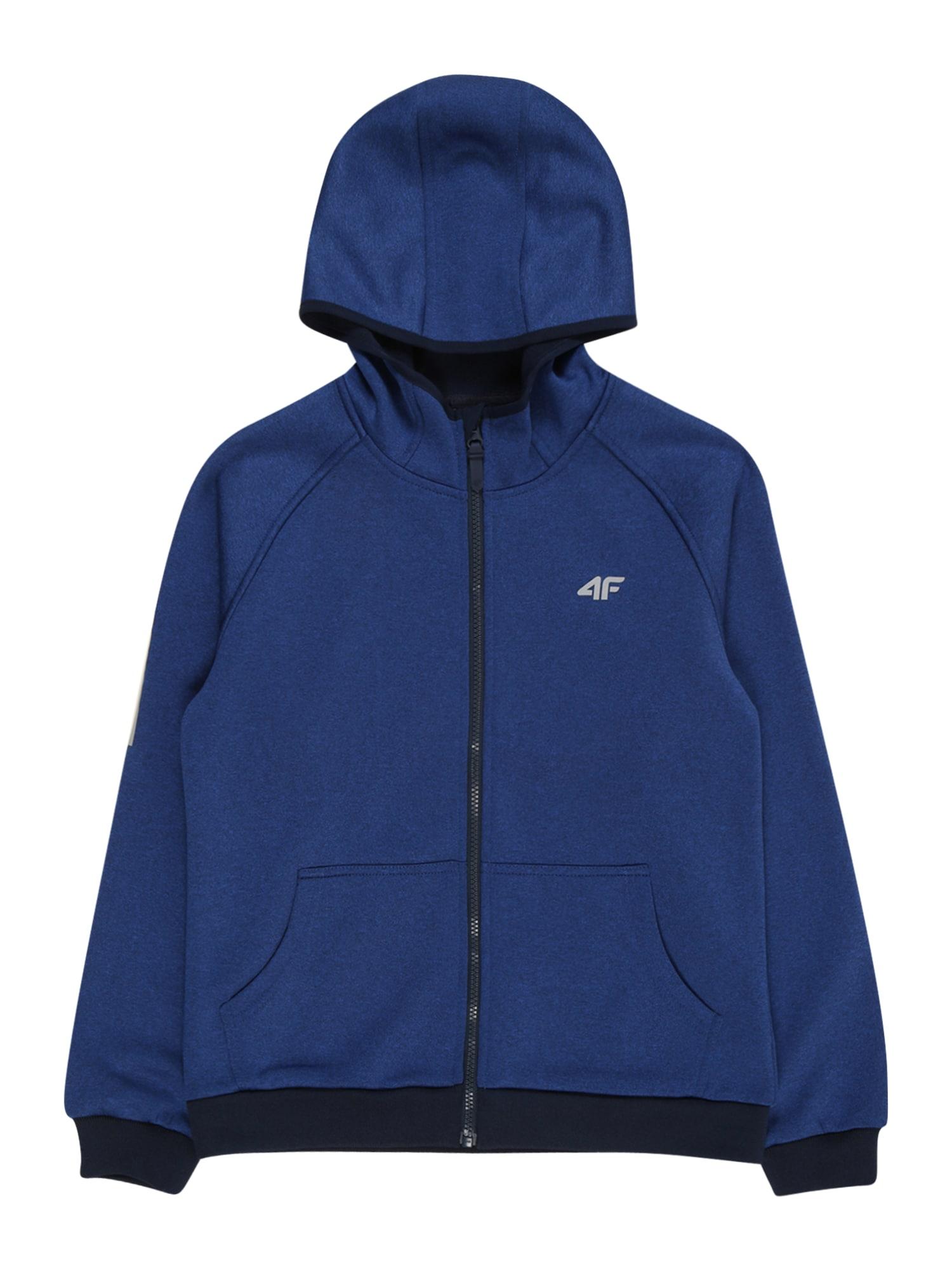 4F Sportinis džemperis tamsiai mėlyna