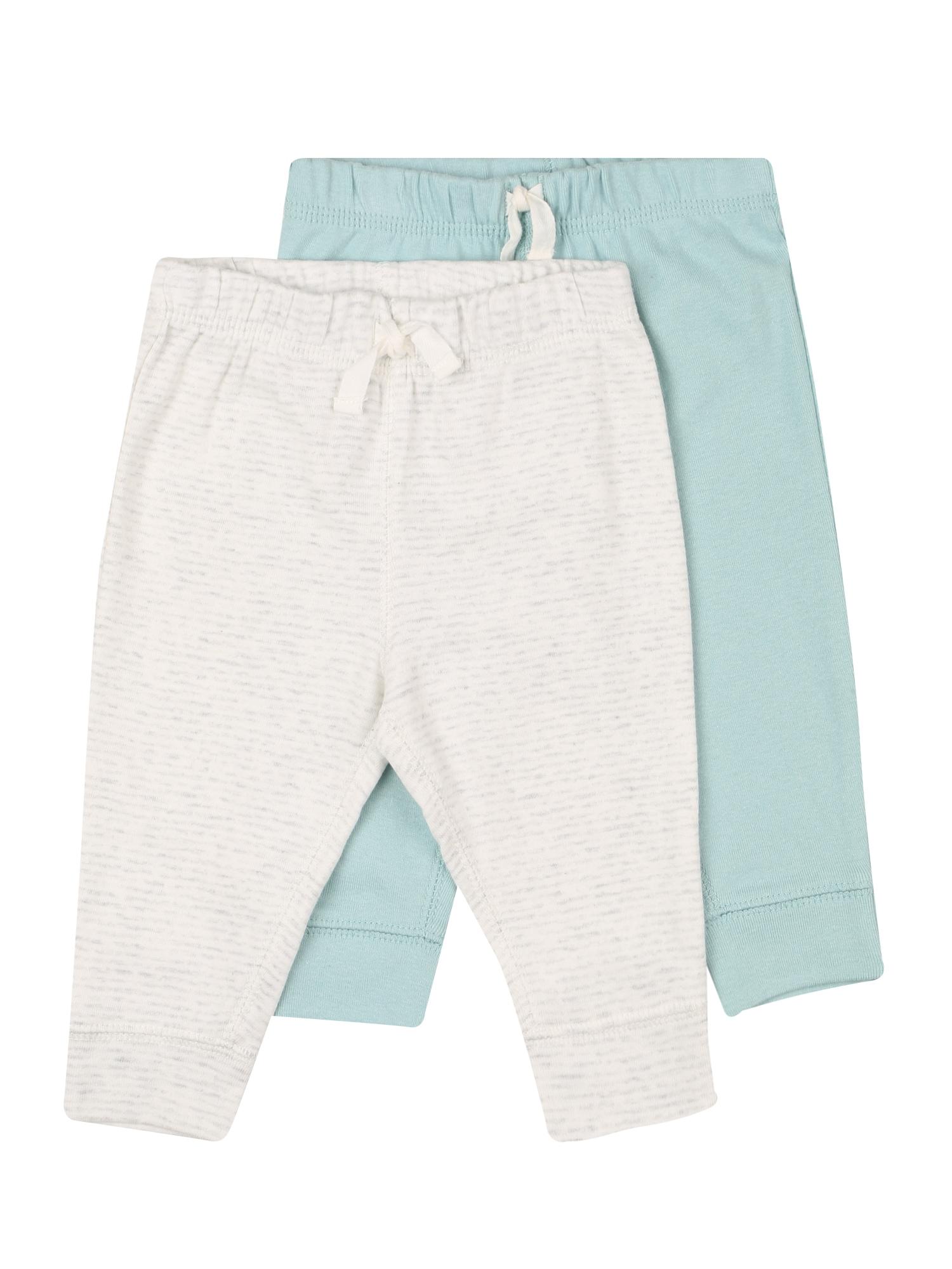 Carter's Kelnės 'BOTTOMS' šviesiai mėlyna / balta