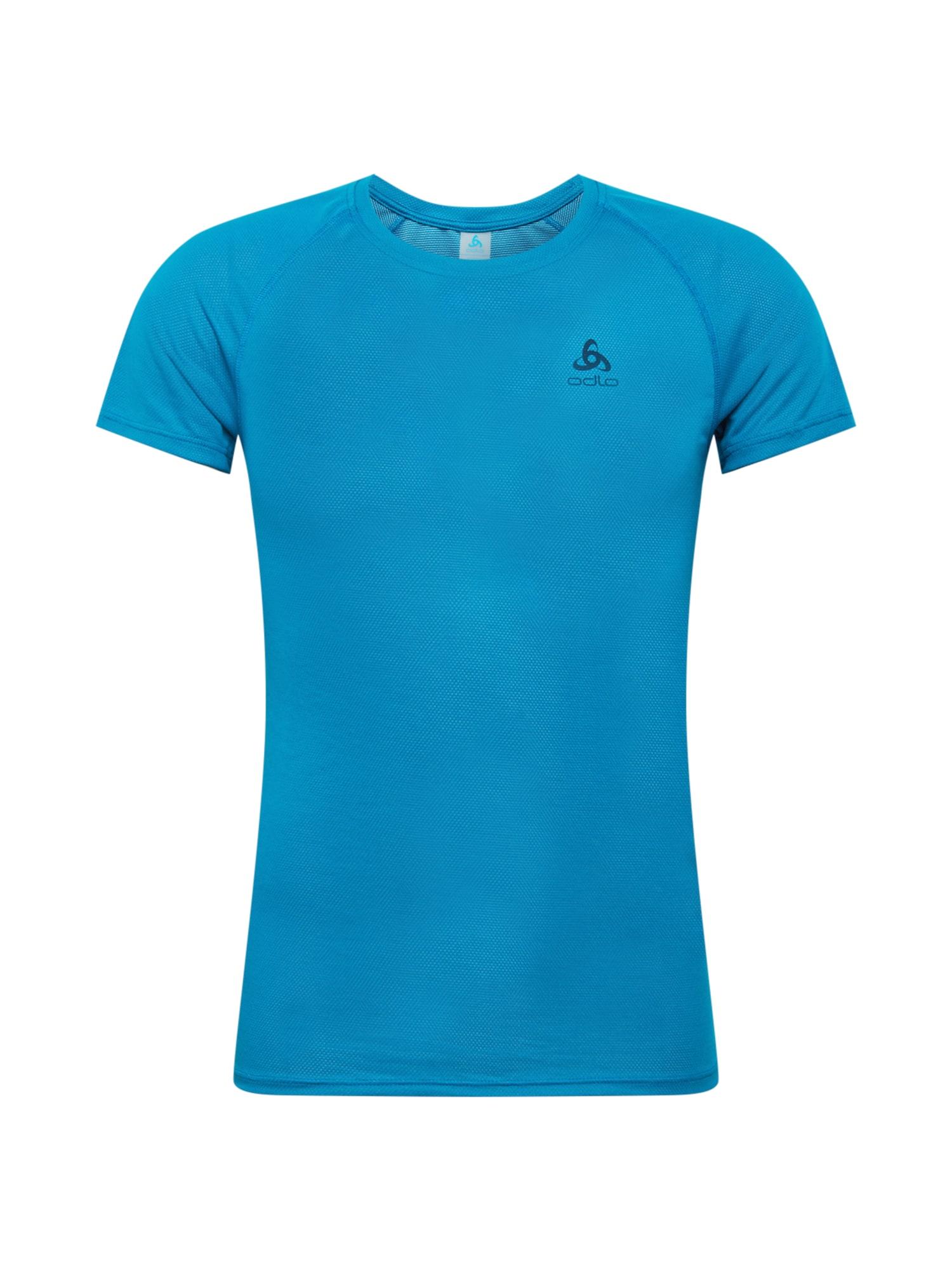 ODLO Sportiniai marškinėliai mėlyna / tamsiai mėlyna