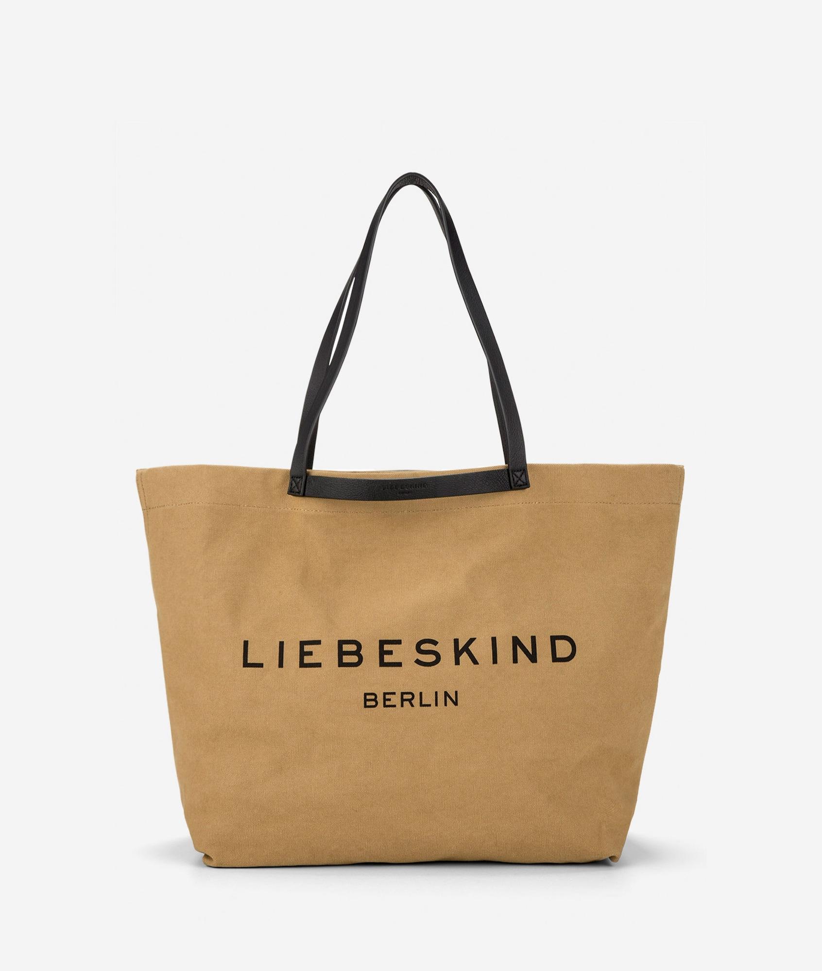 Liebeskind Berlin Pirkinių krepšys šviesiai ruda