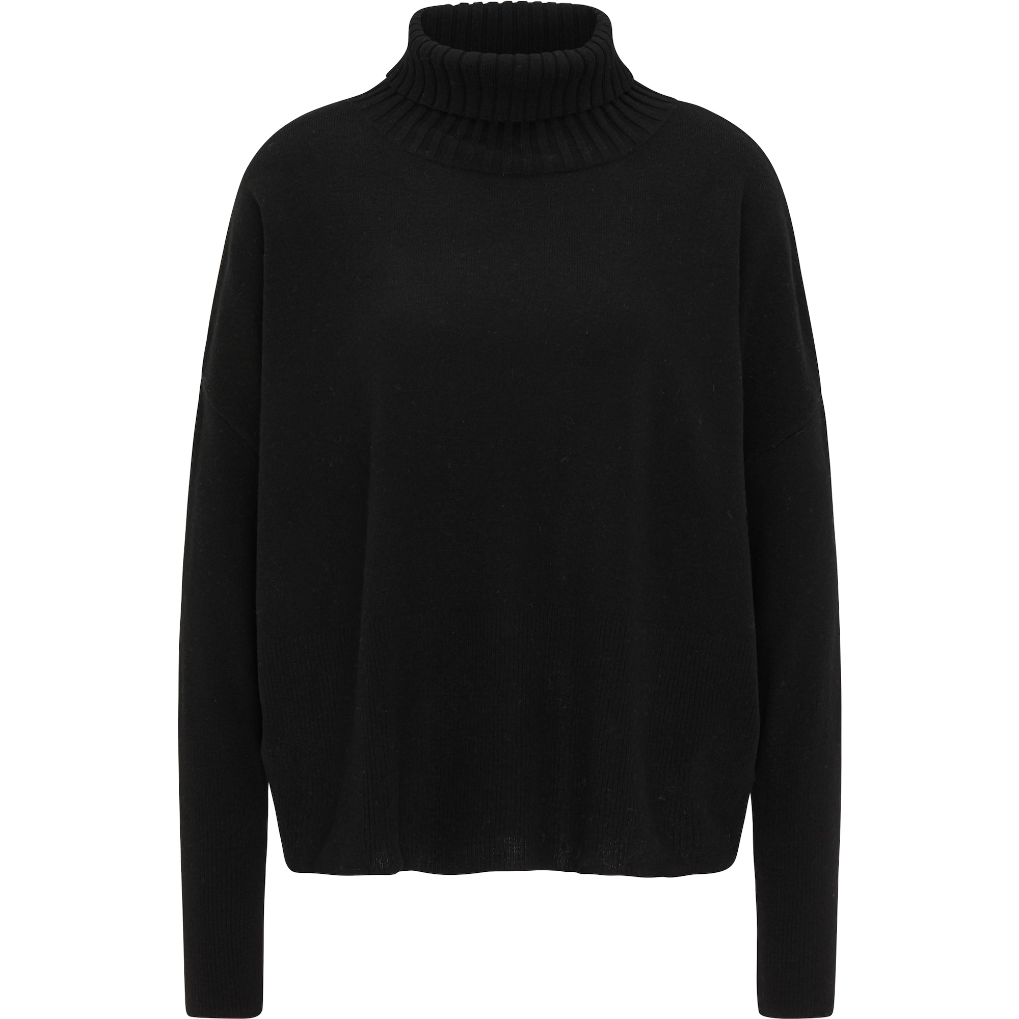 usha BLACK LABEL Laisvas megztinis juoda