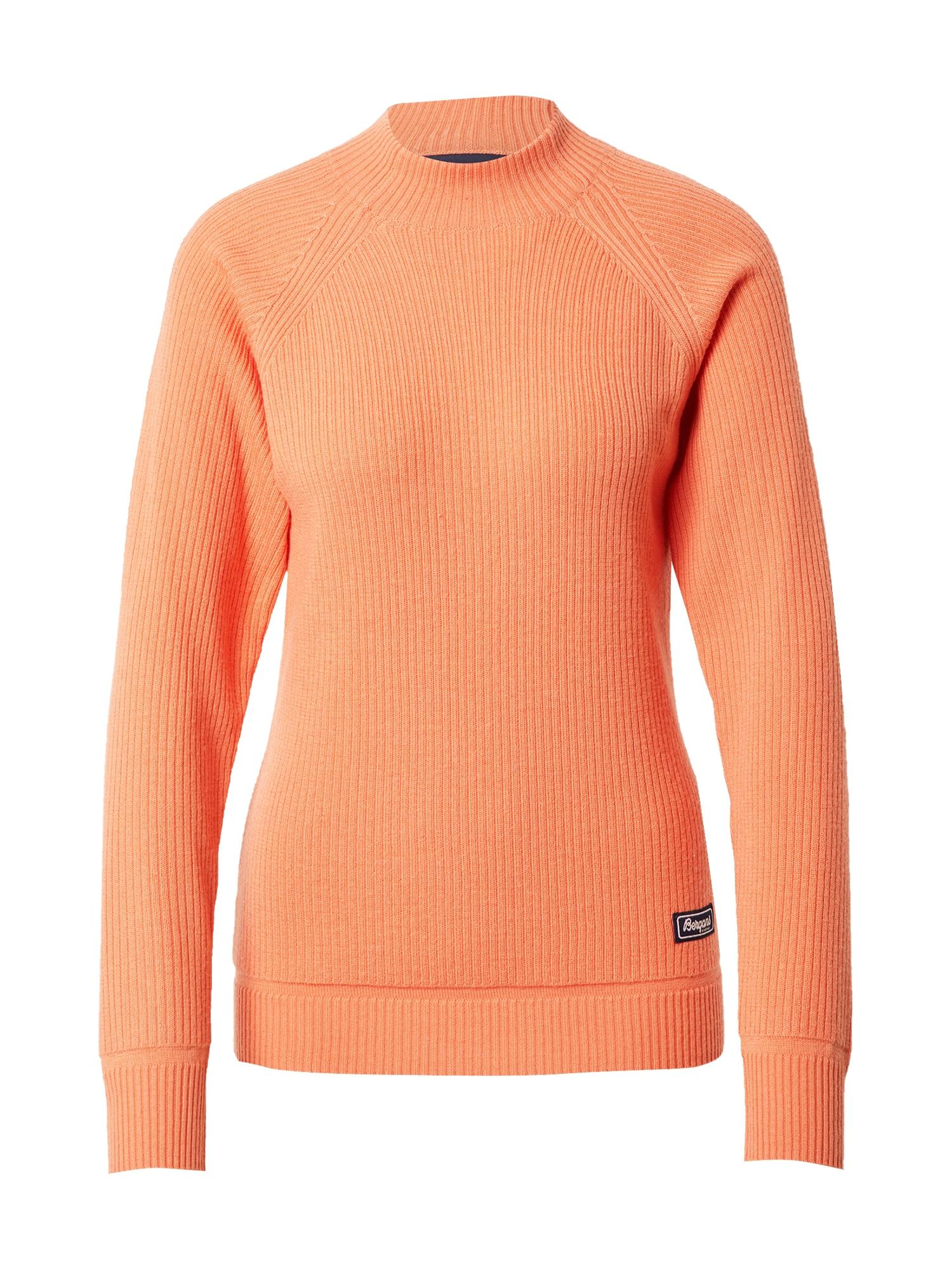 Bergans Sportinis megztinis oranžinė