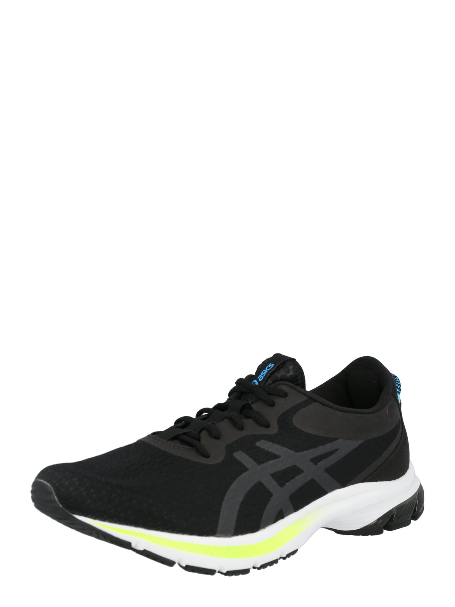 ASICS Sportiniai batai juoda / pilka
