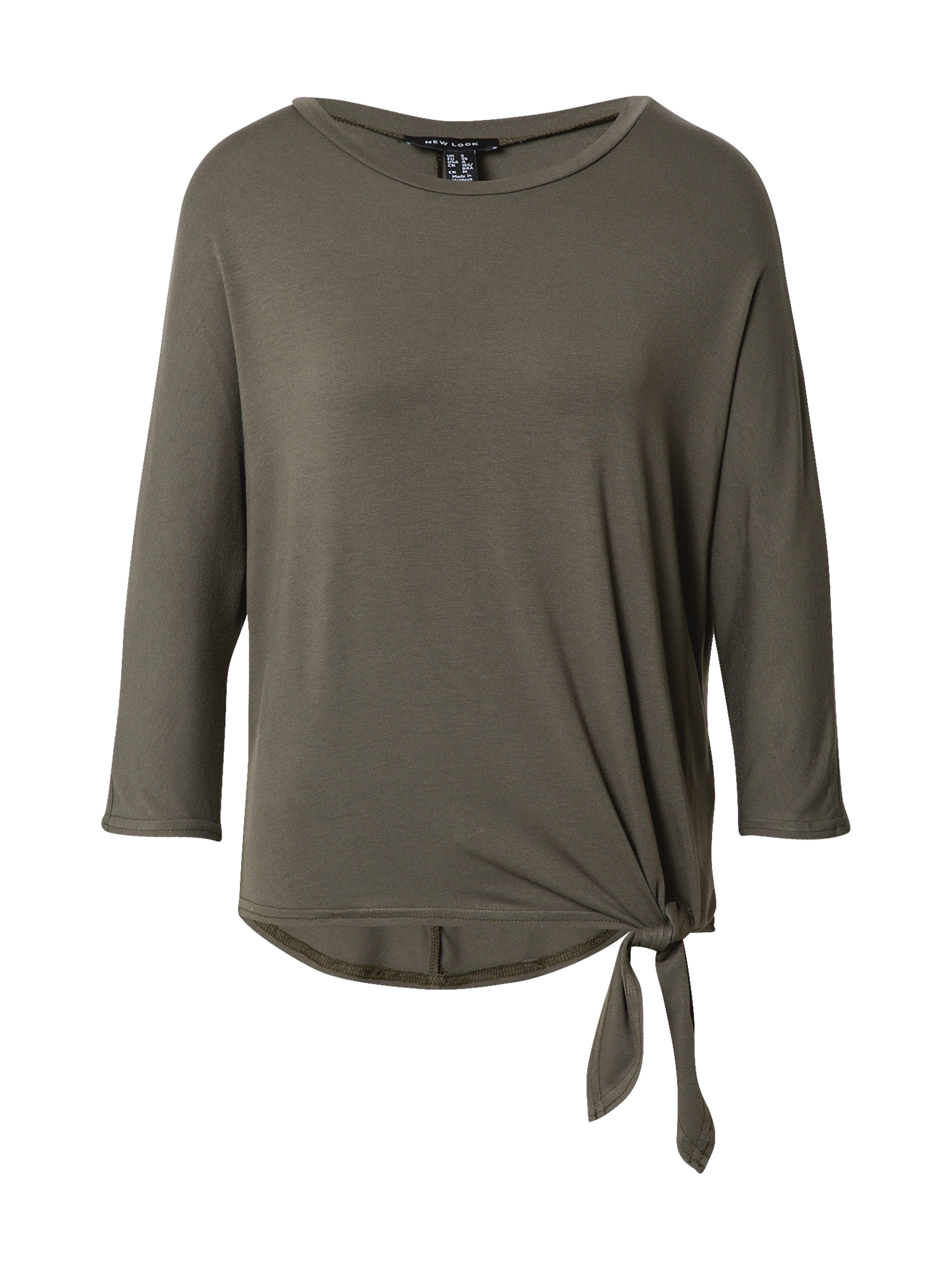 NEW LOOK Marškinėliai rusvai žalia