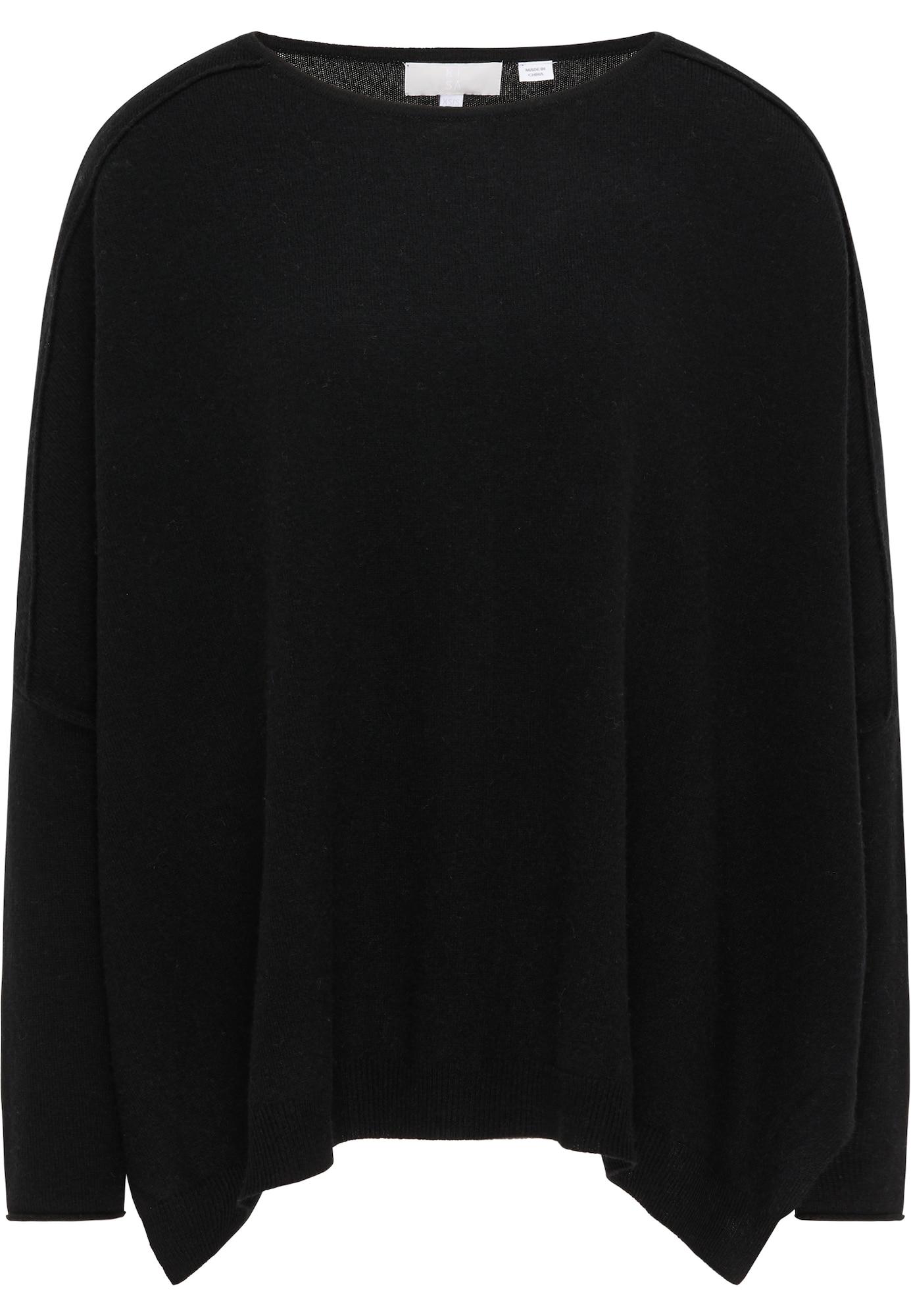 RISA Megztinis juoda