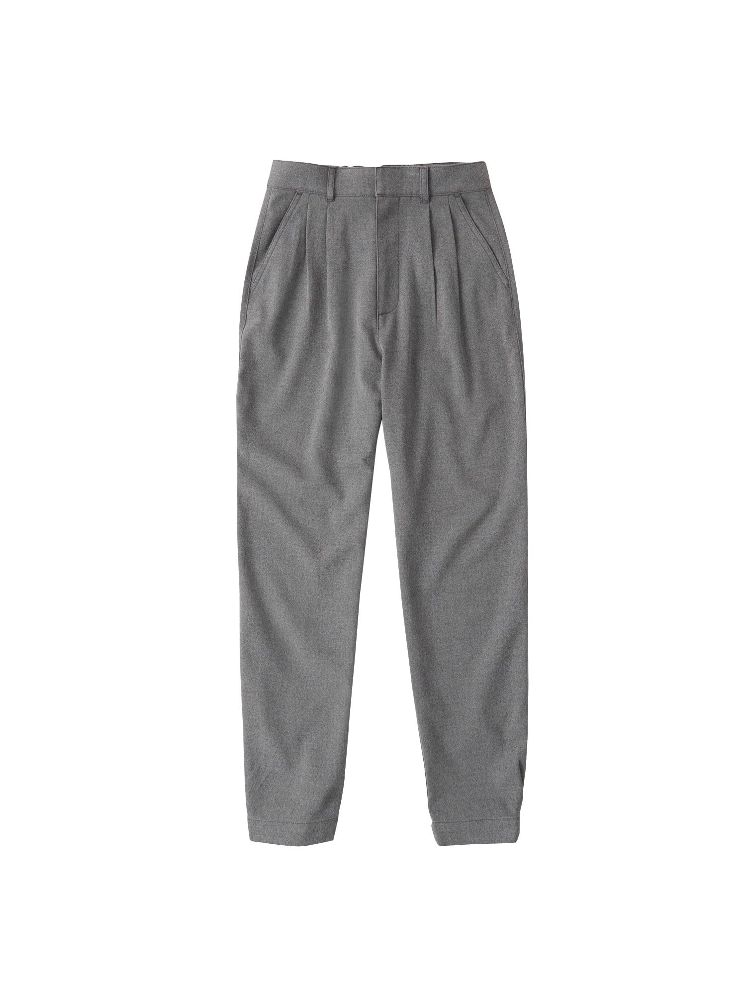 Abercrombie & Fitch Klostuotos kelnės margai pilka