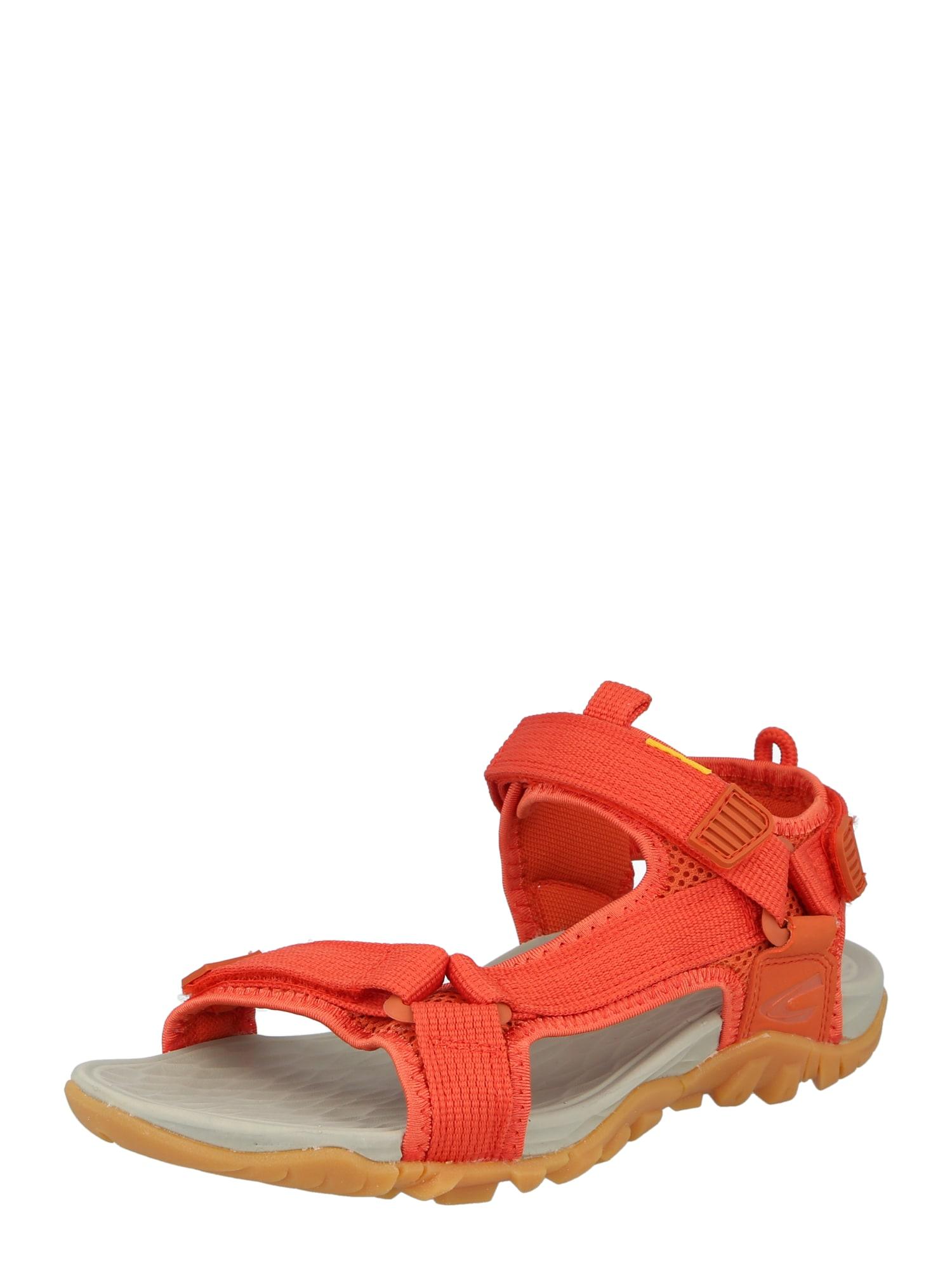CAMEL ACTIVE Sportinio tipo sandalai oranžinė-raudona
