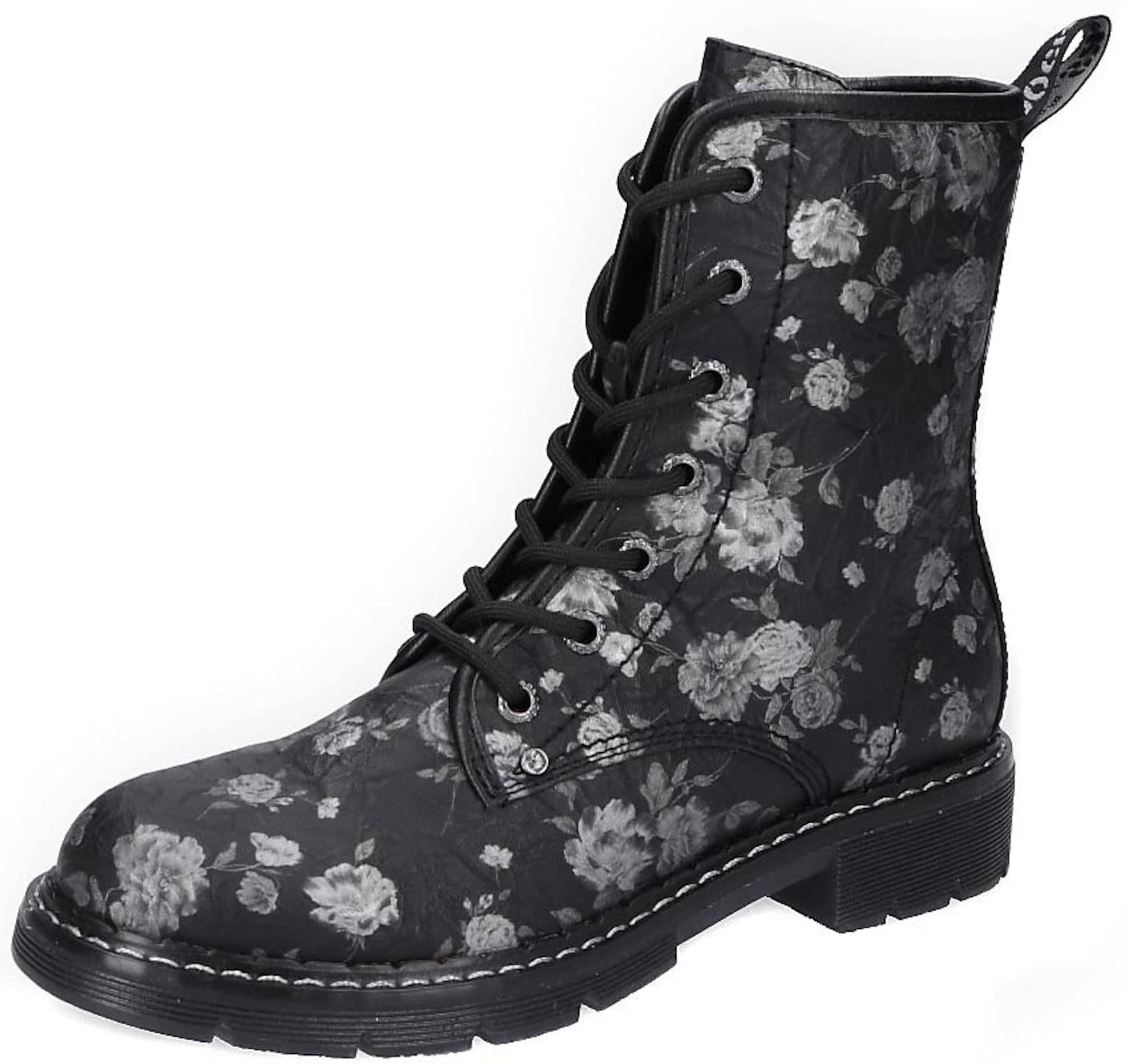 Dockers by Gerli Suvarstomieji kulkšnis dengiantys batai sidabro pilka / juoda
