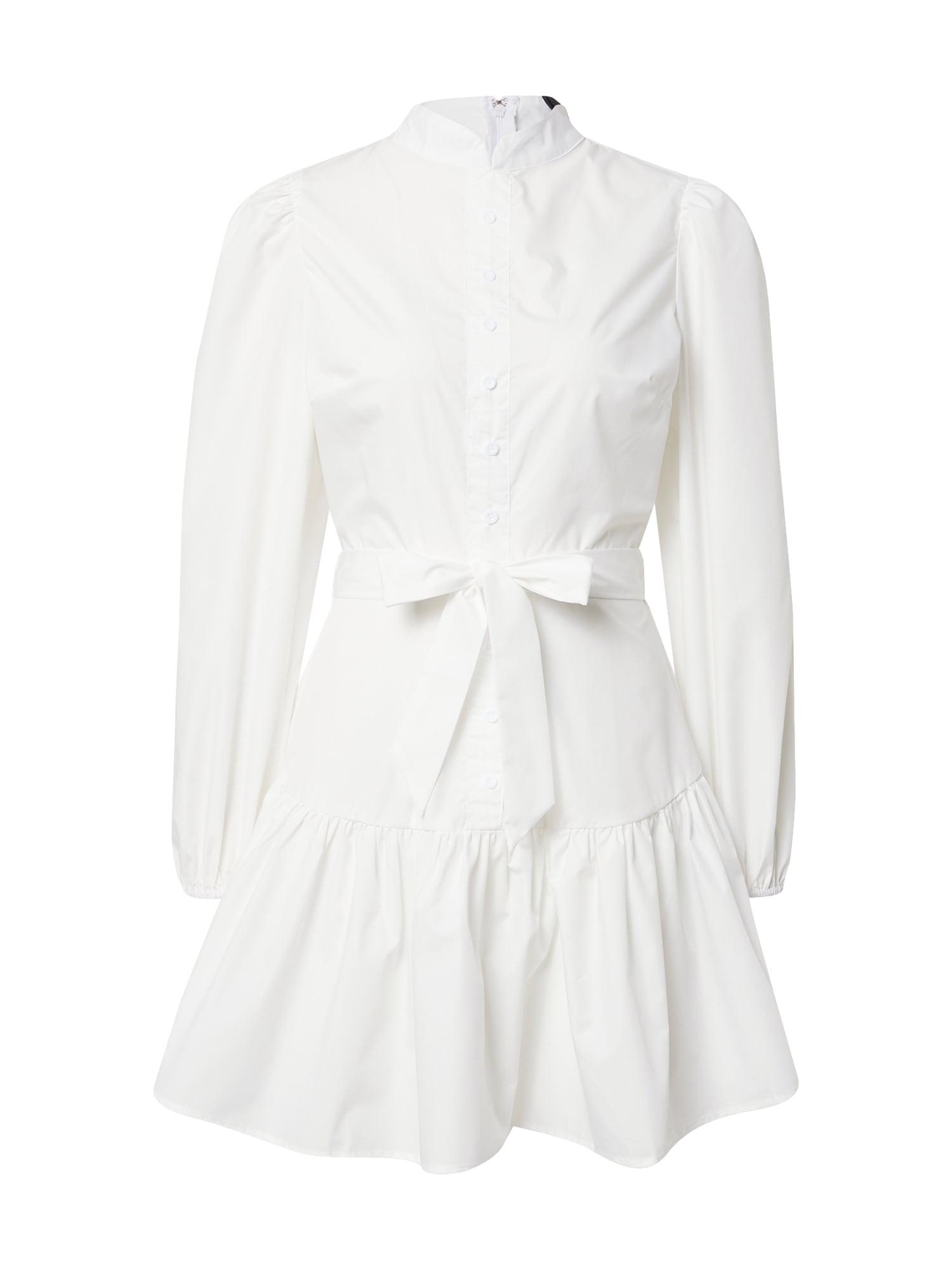 AX Paris Palaidinės tipo suknelė balta