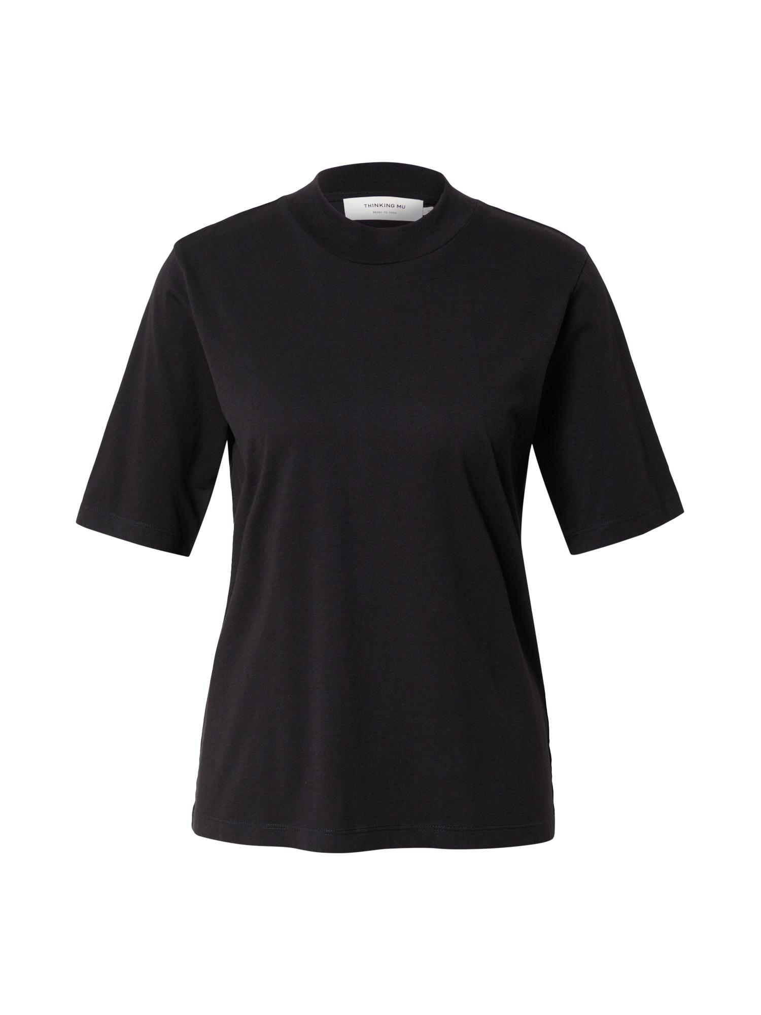 Thinking MU Marškinėliai juoda