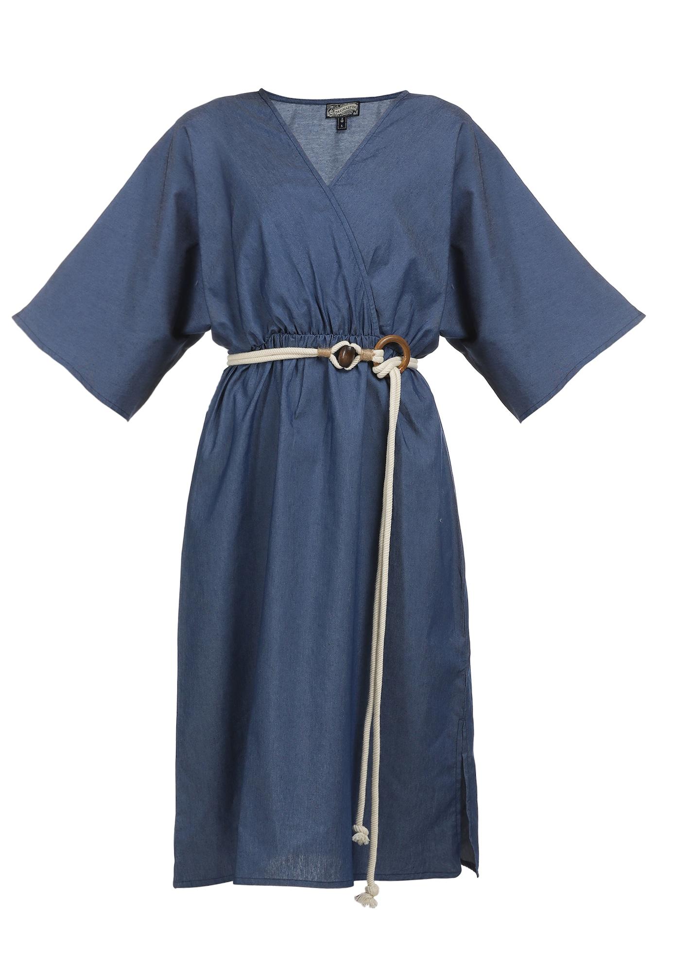 DreiMaster Vintage Vasarinė suknelė tamsiai (džinso) mėlyna